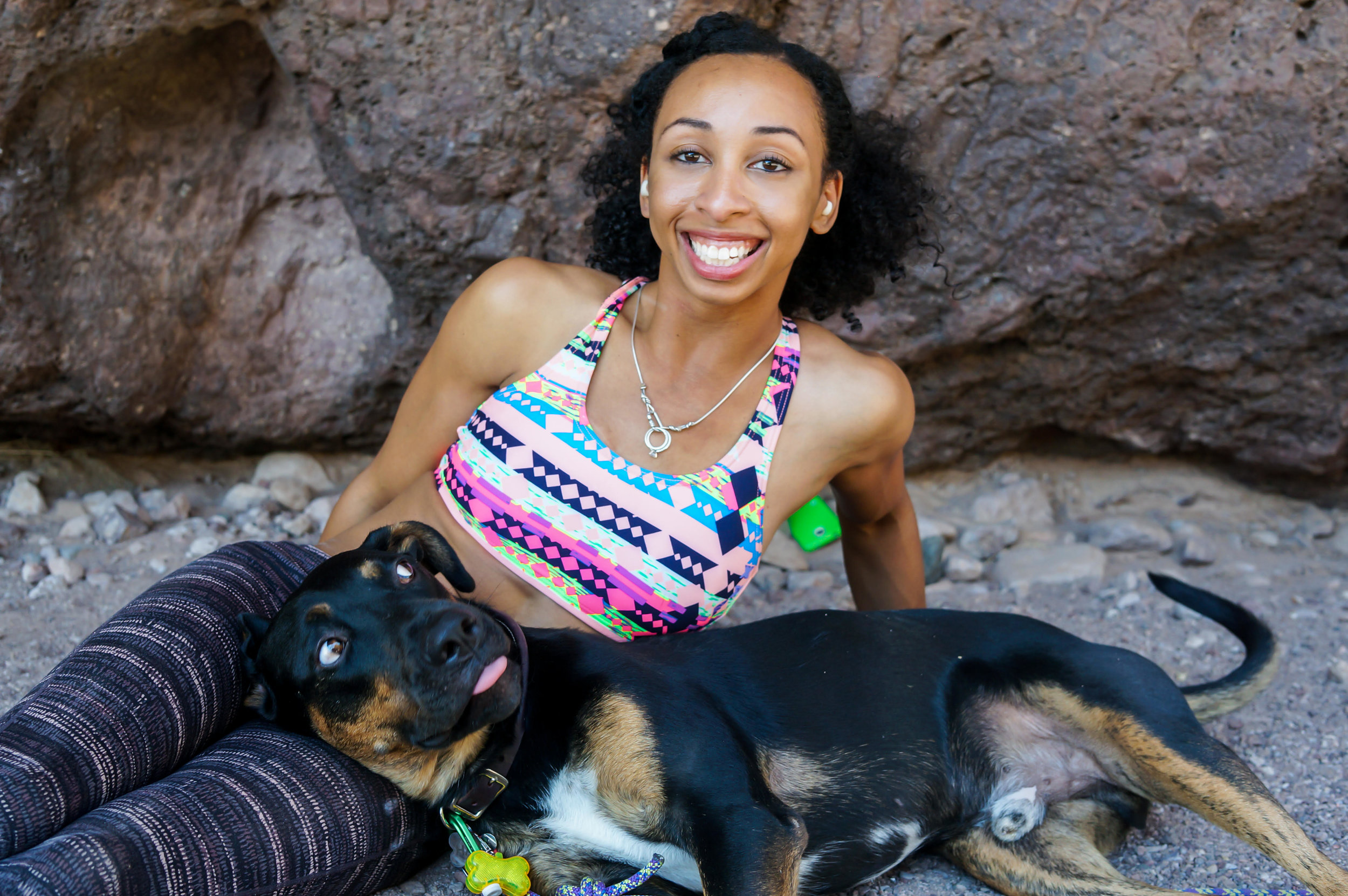FAVIA DUBYK    Favia is a photographer, climber and member of Brown Girls Climb. She enjoys practicing medicine and maintains an active lifestyle with her husband, rescue pup and five cats.    Read more  →