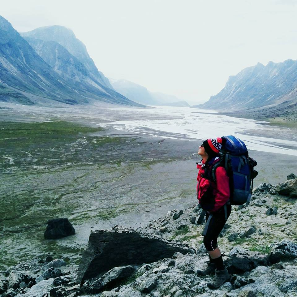 *Photo from a 3-day hike in Auyuittuq National Park, Baffin Island, Nunavut, Canada