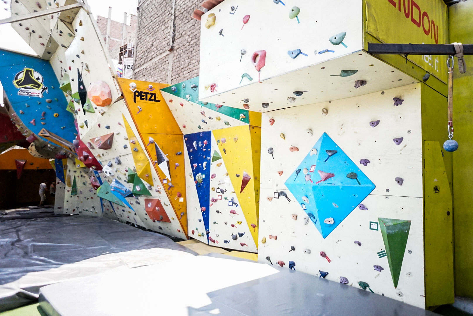 The Outdoor/Indoor Climbing Gym. A truly unique experience!