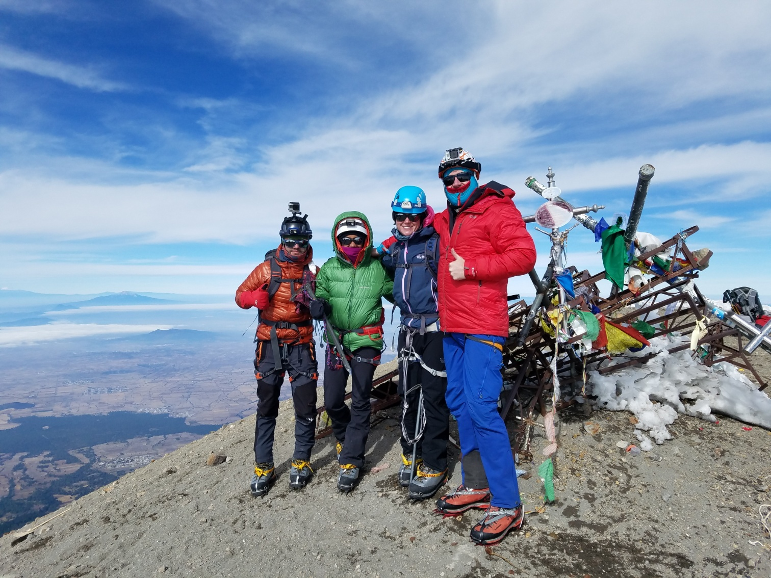 Photo Credit: Unknown (the team at the summit of Pico de Orizaba)
