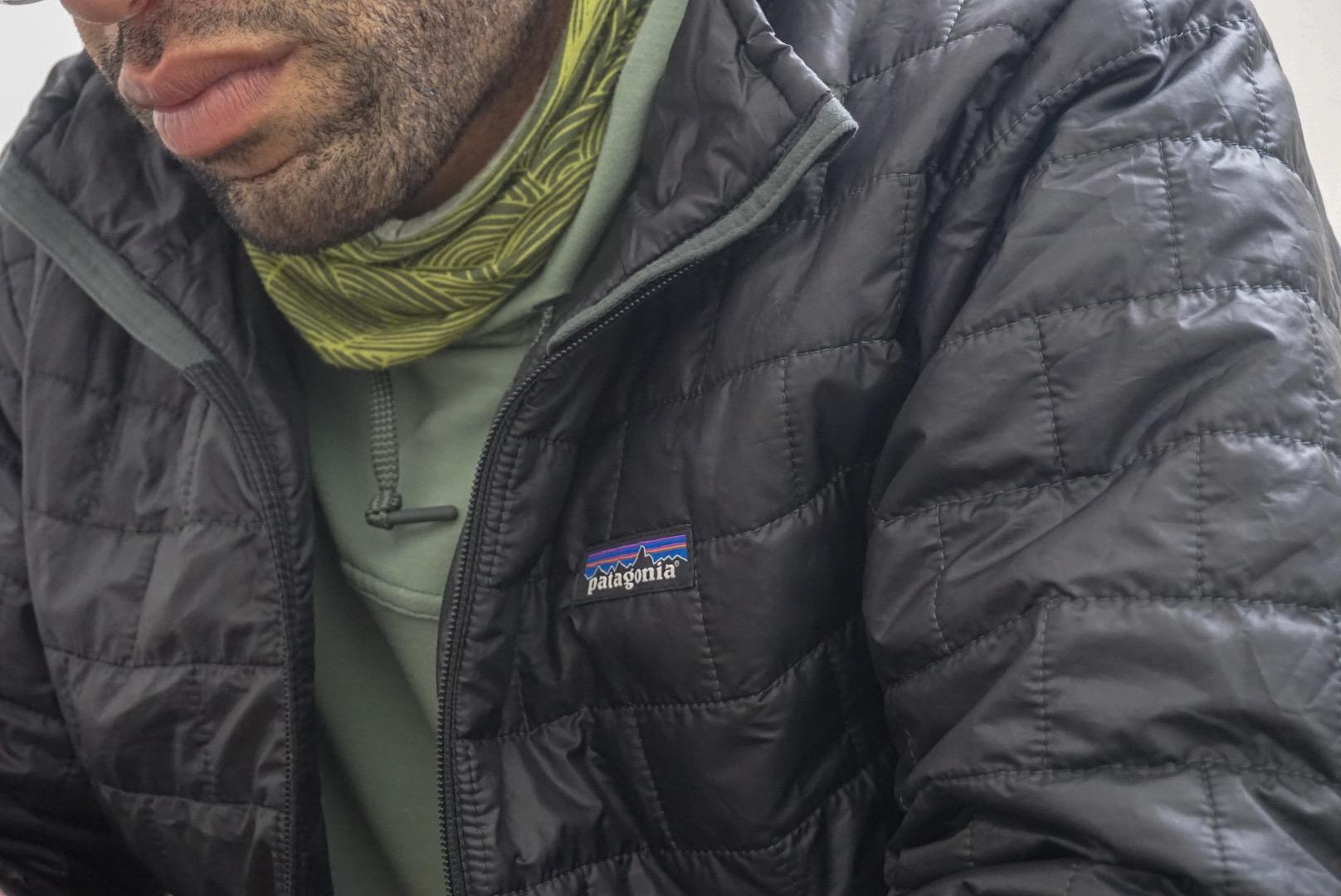 Patagonia logo.  Photo courtesy of Adam Edwards