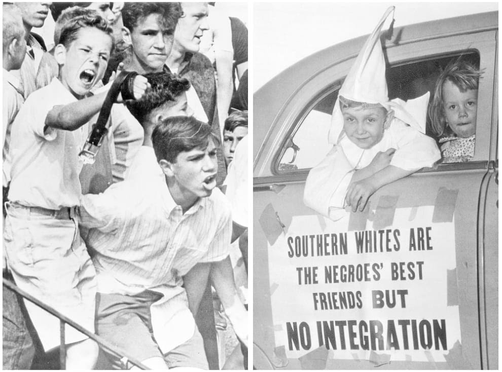 Double-speak on race is nothing new.  Getty Images