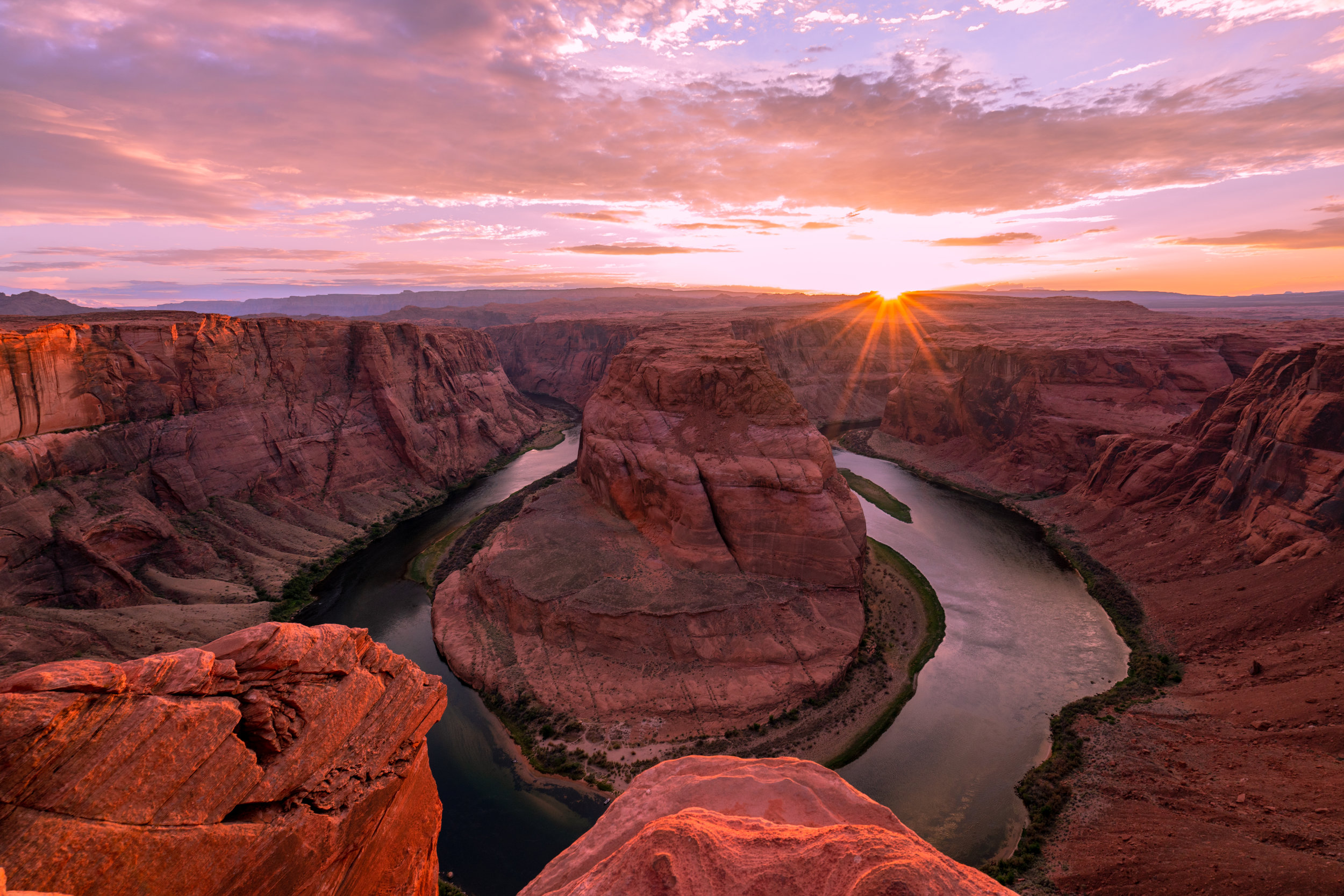 Horseshoe Bend's popularity increased exponentially through image sharing platforms like Instagram. It is located near Page, Arizona on Hopi, Diné, Southern Paiute and Ute ancestral land. Photo courtesy of Jose Magana