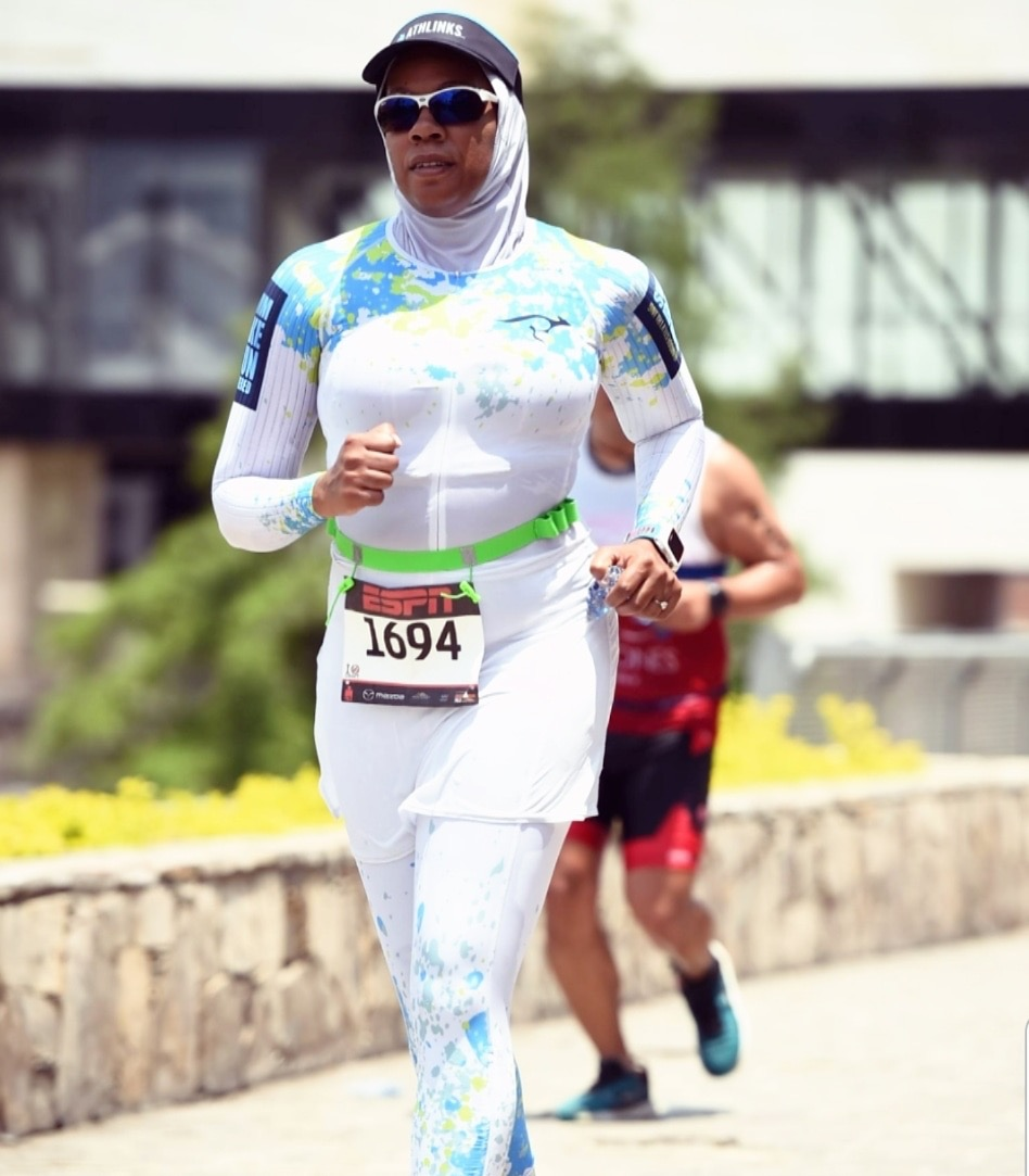 Iron Man 70.3 in Monterrey, Mexico is one of Jeri Villarreal's favorite triathlons.  Photo credit: FinisherPix®
