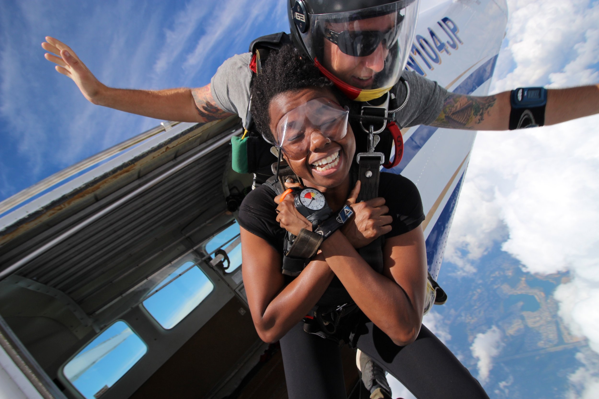 This could be you! Are you ready to plan your first skydive?  Photo courtesy of   Theresa Morgan