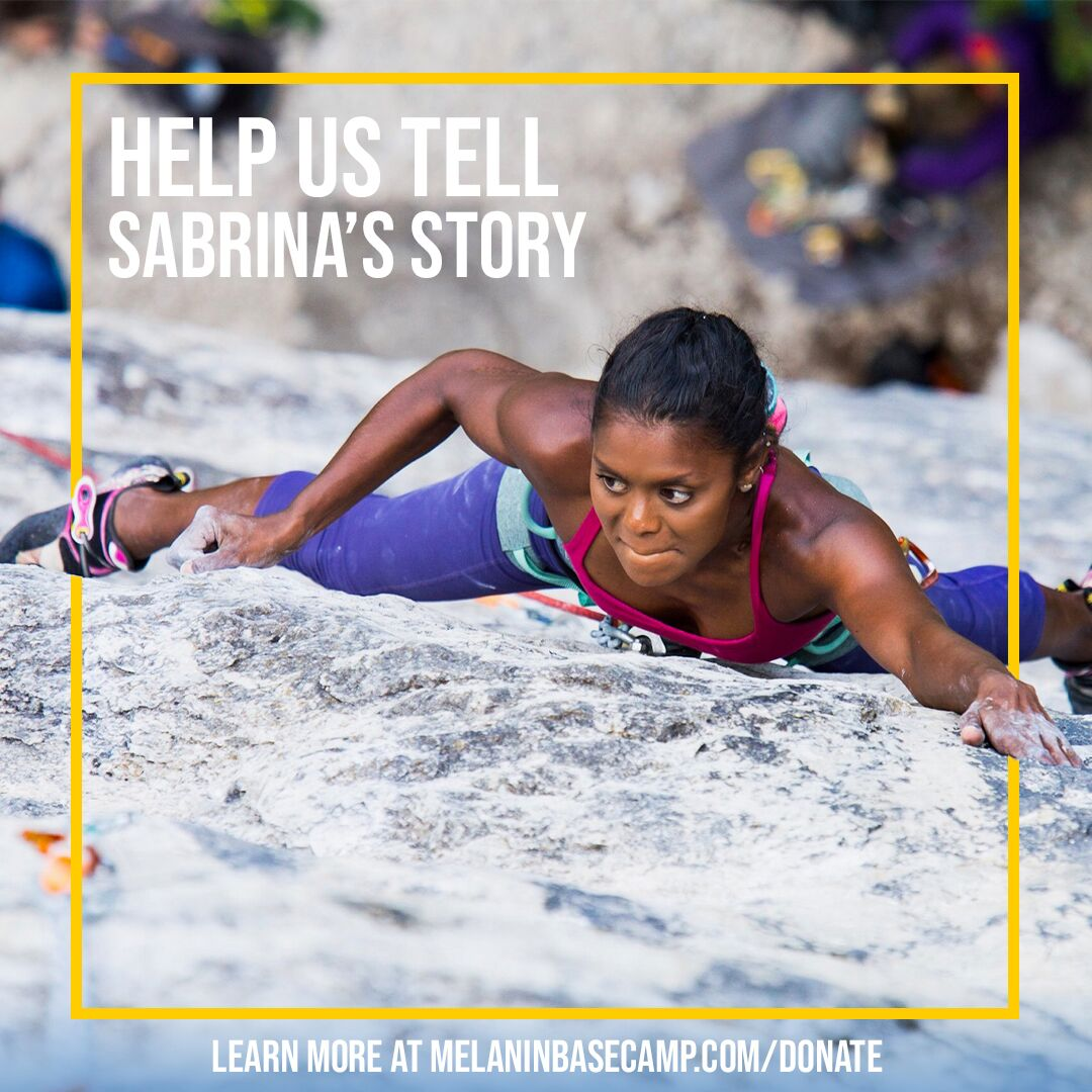 Sabrina Chapman didn't start climbing until she was 26-years-old.  Photo courtesy of Shawn Robertson
