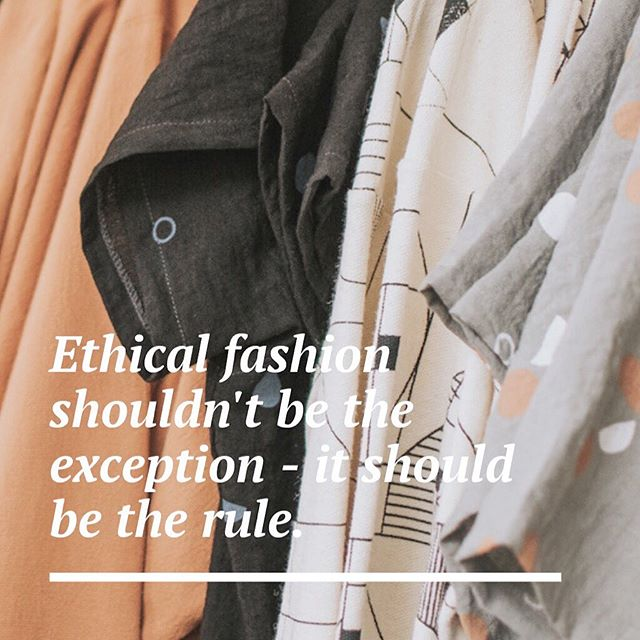 "Do you know what ethical fashion means? Head over to our ""ethical fashion"" highlight in our Instagram stories to find out the difference between ethical and sustainable fashion, understand the slow fashion movement and learn how you can make a positive impact in the garment industry! • We are firm believers in supporting ethical brands. While ethically-made may mean spending a bit more on clothing, it also means that the money you spend is your way of casting a vote for the type of world you want to live in. You're standing up for fair wages, safe working conditions and the ethical treatment of the human lives behind our clothing. • The slow fashion movement is gaining momentum, but it's up to us to continue to push it forward! As Americans, we place so much value on something tangible, like saving money, and we've forgotten to place value on the lives of the people who make the things that we consume. • Exploitation in the garment industry needs to stop. We might be a small shop in NW Indiana, but we're determined to make a positive impact on the world, and we hope you are, too! Remember, every small change made by many people can make a BIG difference!🧡"