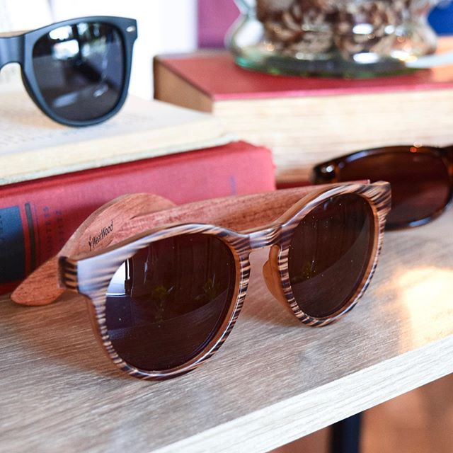 A fresh batch of handcrafted sunglasses has arrived! 😎 Based in Minneapolis, MN, @wearwood plants two trees with every purchase through their nonprofit partnership with @treesforthefuture🌳 • Trees help reduce and remove megatons of greenhouse gases from the atmosphere. This results in slower global warming temperatures as well as food and shelter for our ecosystem. 🌳🌍