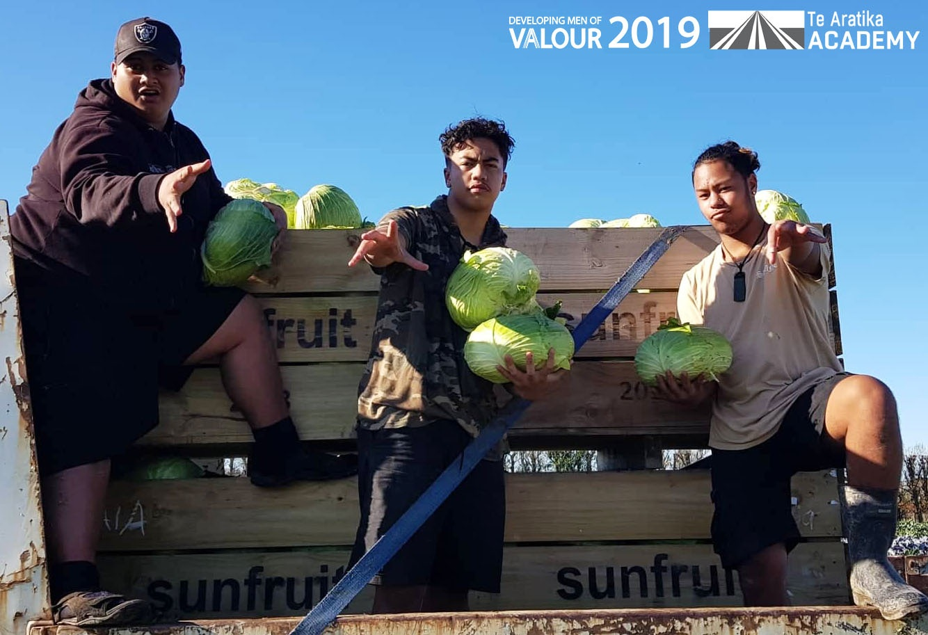 DMOV19 $1 Cabbage Fundraiser - We were privileged to be gifted a field full of cabbages to support our fundraising efforts. Our boys harvested, cleaned and sold out of the cabbages to earn funds for their travels.