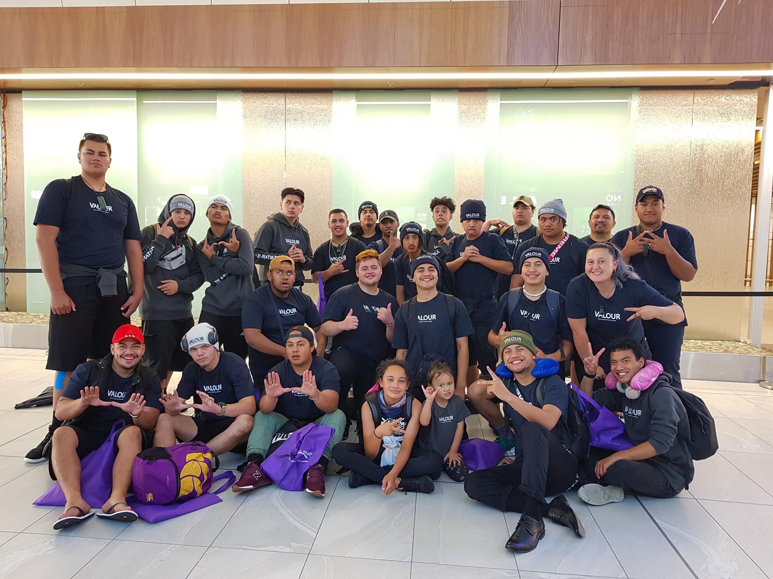 Te Aratika Academy 2018 Students