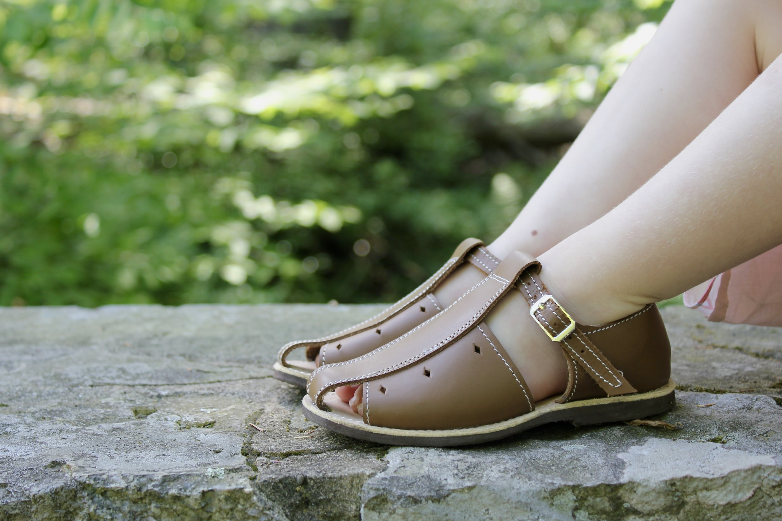 Natalia Leather Sandals   by The Humble Soles