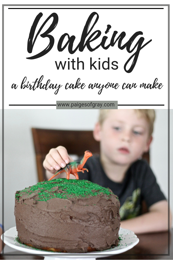 Baking with Kids: A Birthday Cake Anyone Can Make