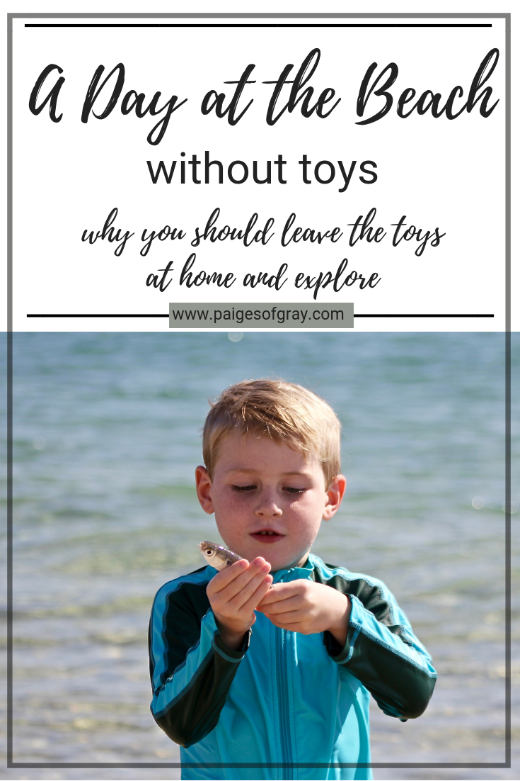 A Day at the Beach without toys