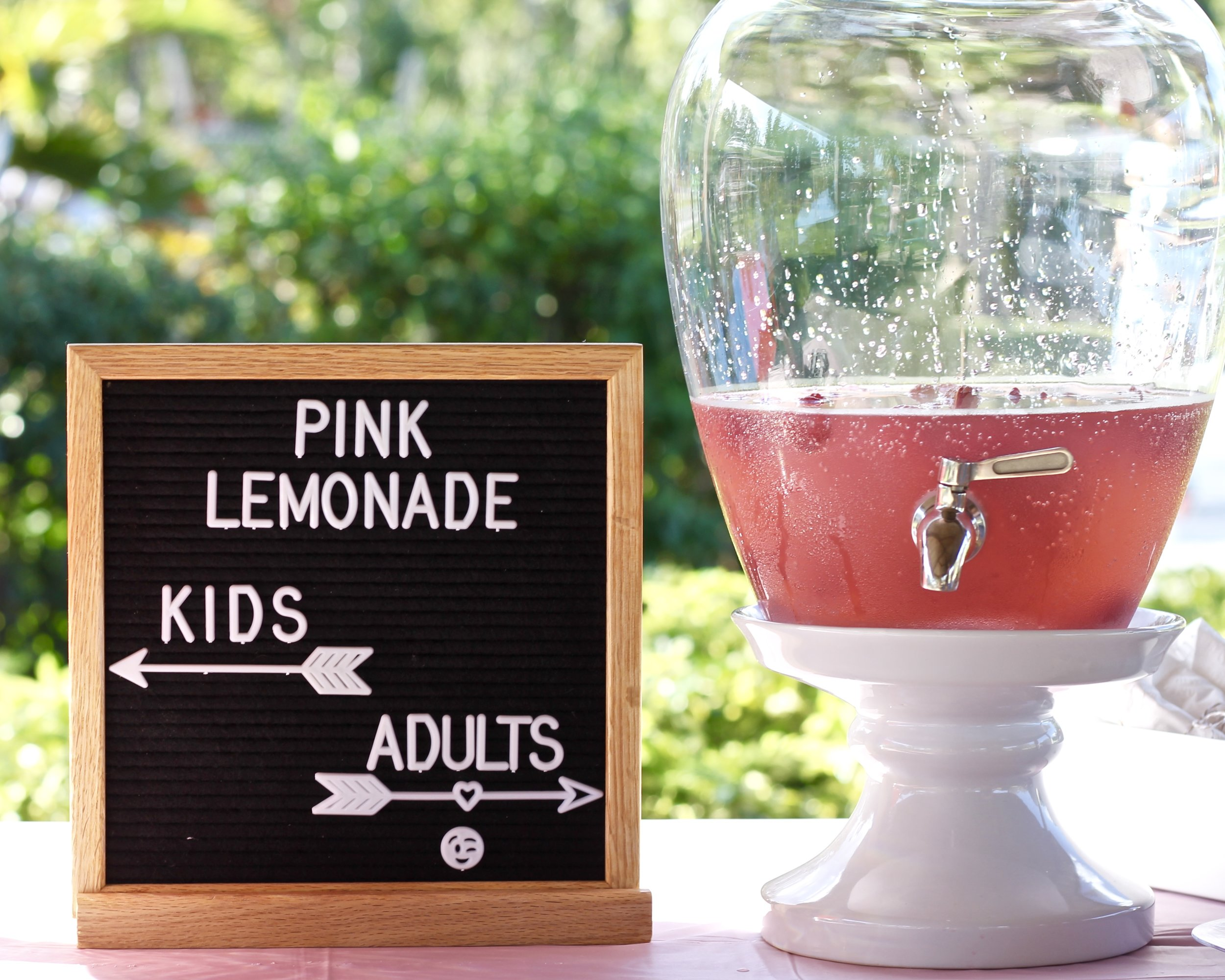 Spiked pink lemonade recipe.