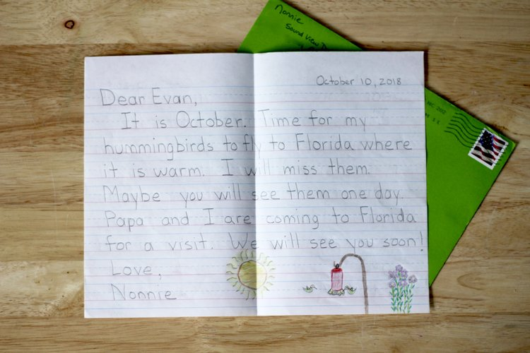 Will You Be My Pen Pal? Encouraging Reading and Handwriting Practice