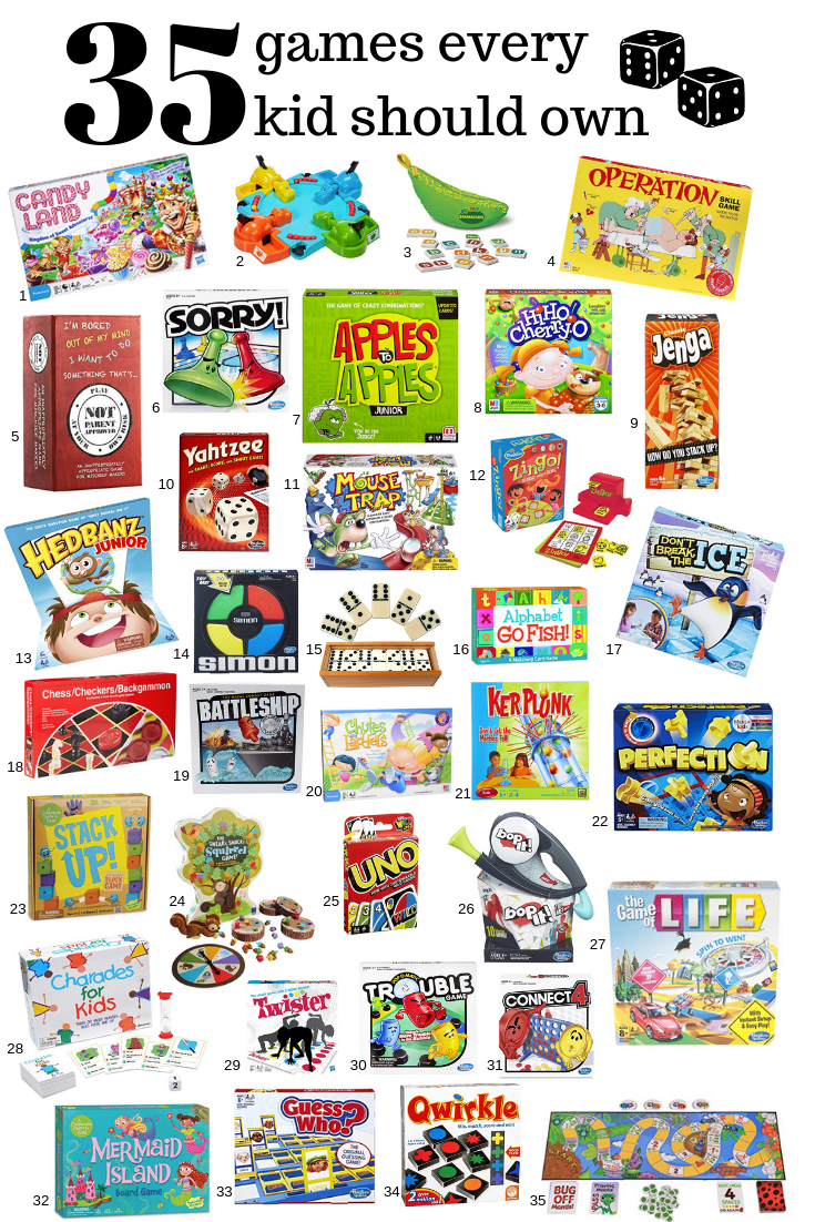 Games every kid should own . This post may contain affiliate links. Please see my full  disclosure policy  for details.