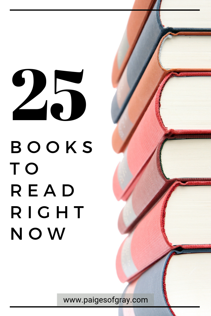 Books To Read Right Now