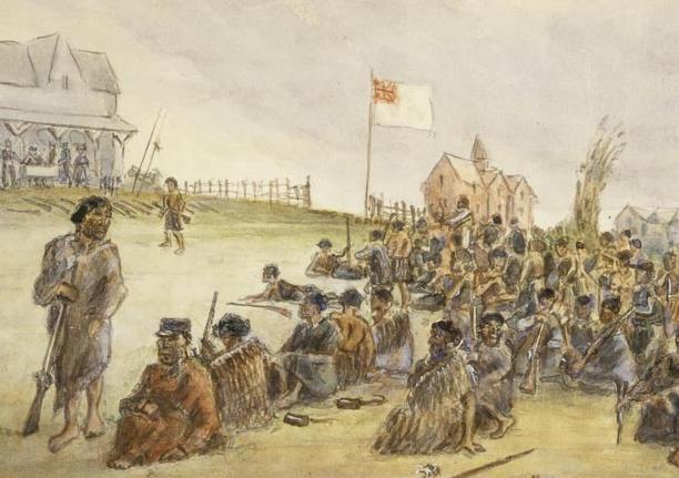 'Surrender' of Ngāi Te Rangi https://nzhistory.govt.nz/page/battle-te-ranga