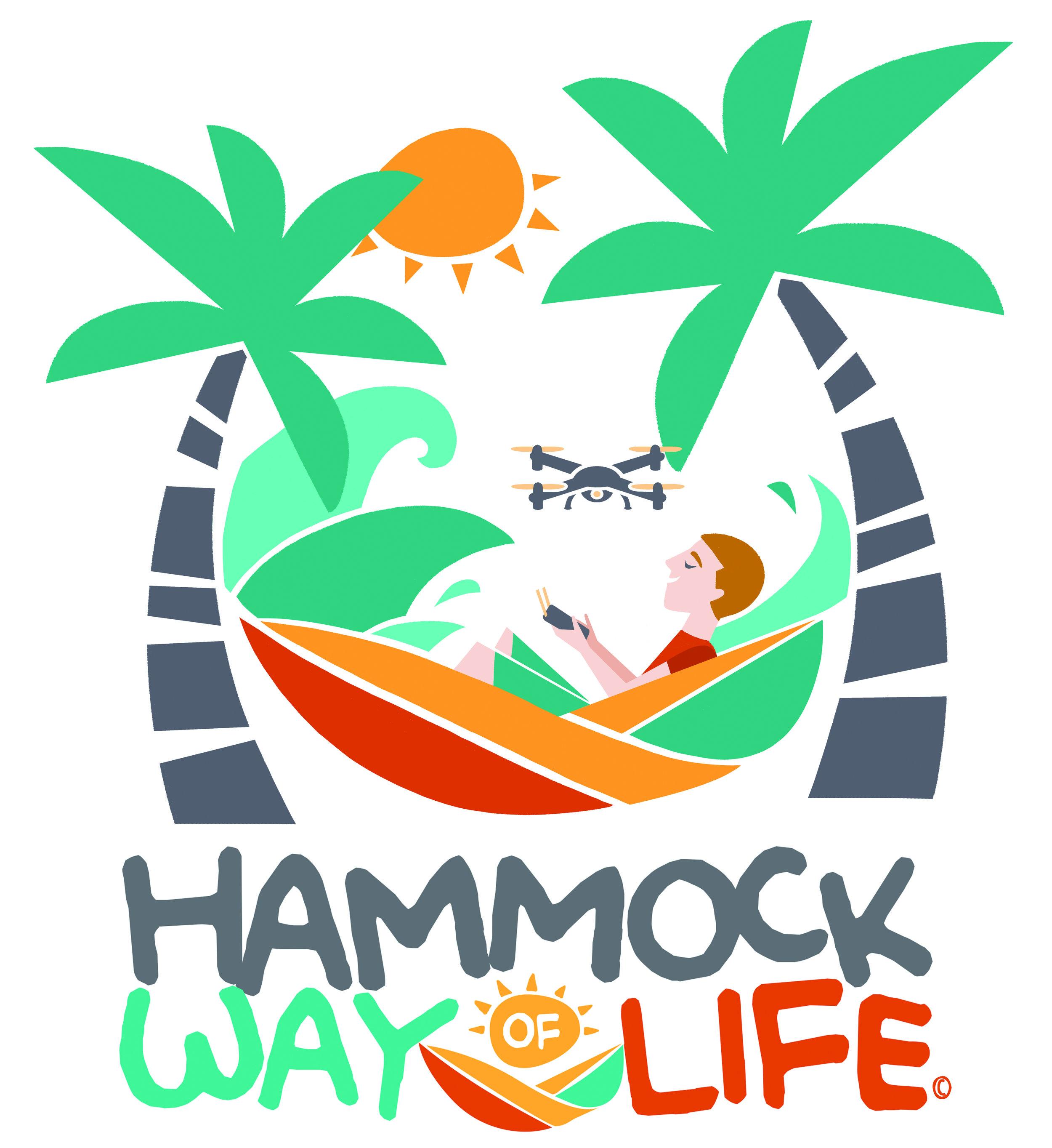 Droning in a Hammock