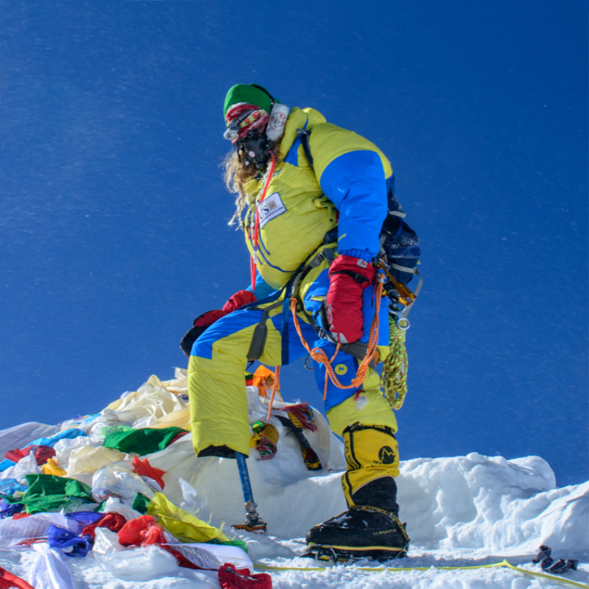 2016 USX Mount Everest Expedition - In May 2016, USX became one of the first organizations to place a combat amputee on the summit of Earth's highest point. This expedition had two goals: raise awareness for service-members struggling through PTSD and use ultrasound technology to look for signs of the onset of high altitude pulmonary edema (HAPE). USX raised several thousand dollars toward veteran PTSD programs, specifically Stop Soldier Suicide, generated 3.2 billion media impressions, and gathered hundreds of data points using advanced ultrasonography.