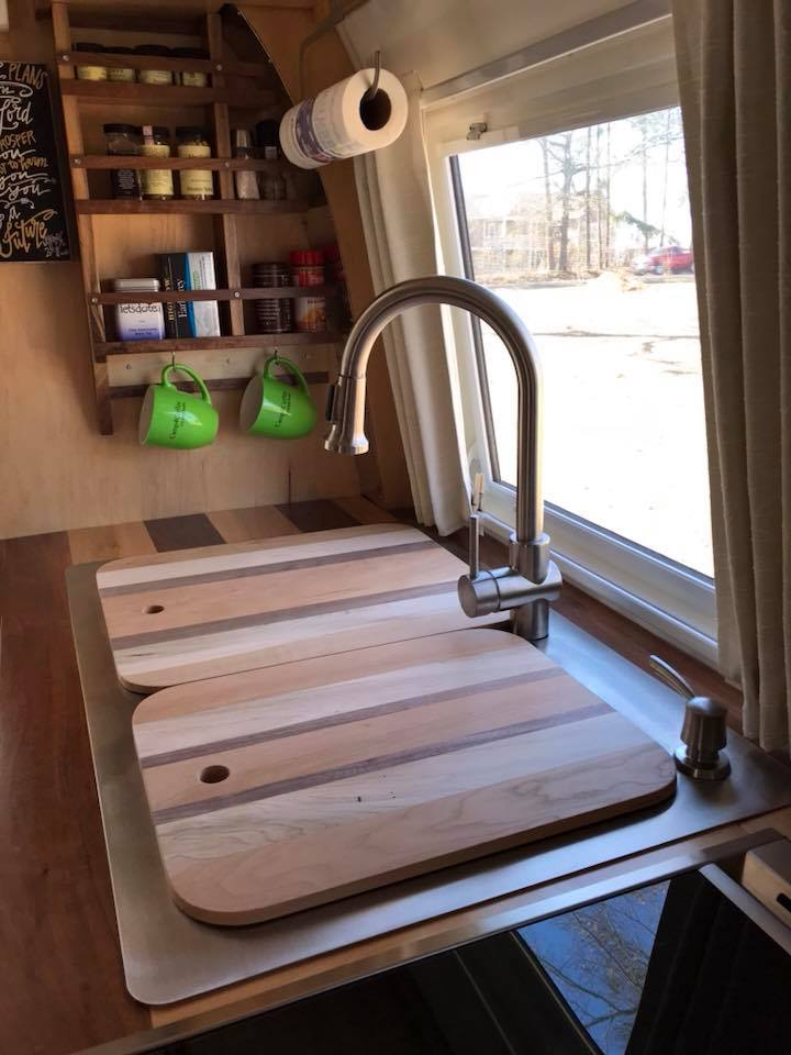 Custom Spice Rack and Cutting Boards Work Perfectly!
