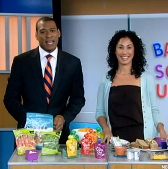 Lisa Brown's recommendations for Nutritious Back-to-School Lunches. Nutritionist Lisa Brown shows how to make it fun and nutritious. -