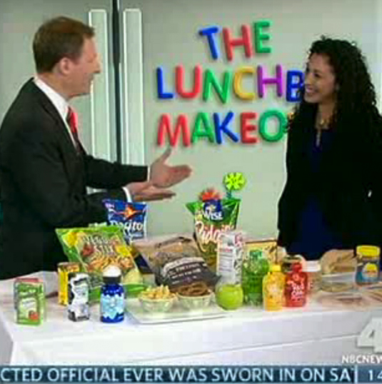 LUNCHBOX MAKEOVER! Lisa Brown has some ideas to make lunches healthier. -