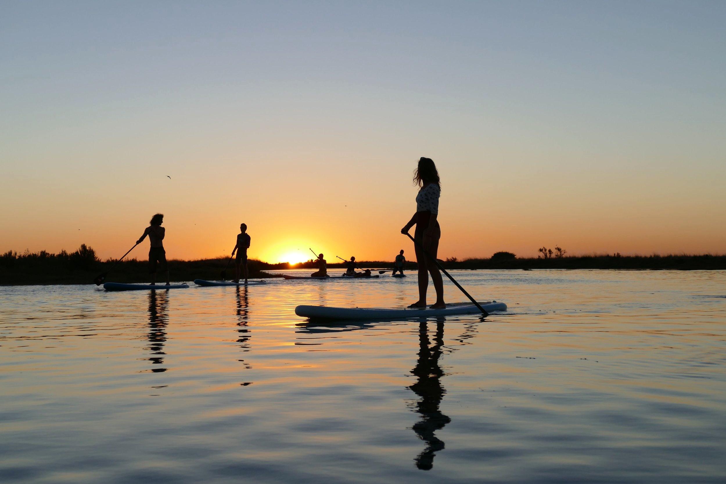 SUP Rando au coucher du soleil sur l'Ile de Ré avec Papaï Paddle