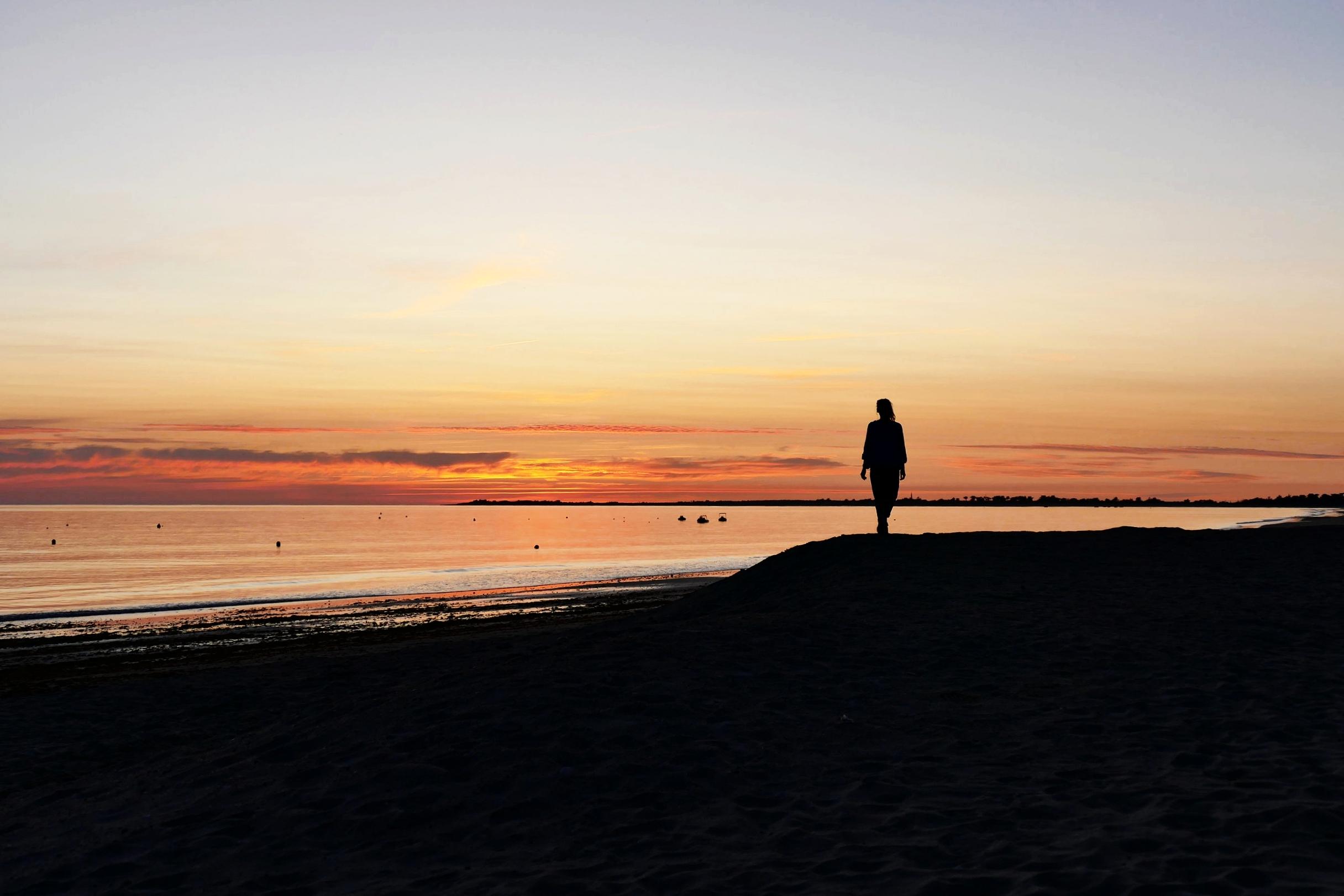 Sunset on Ile de Re