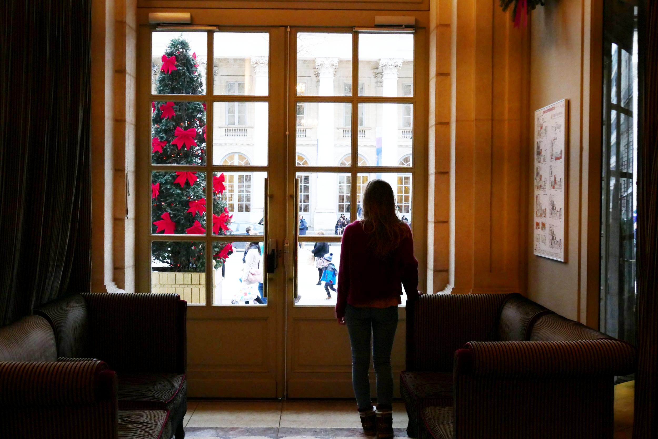 Hall de l'Intercontinental - Grand Hôtel de Bordeaux