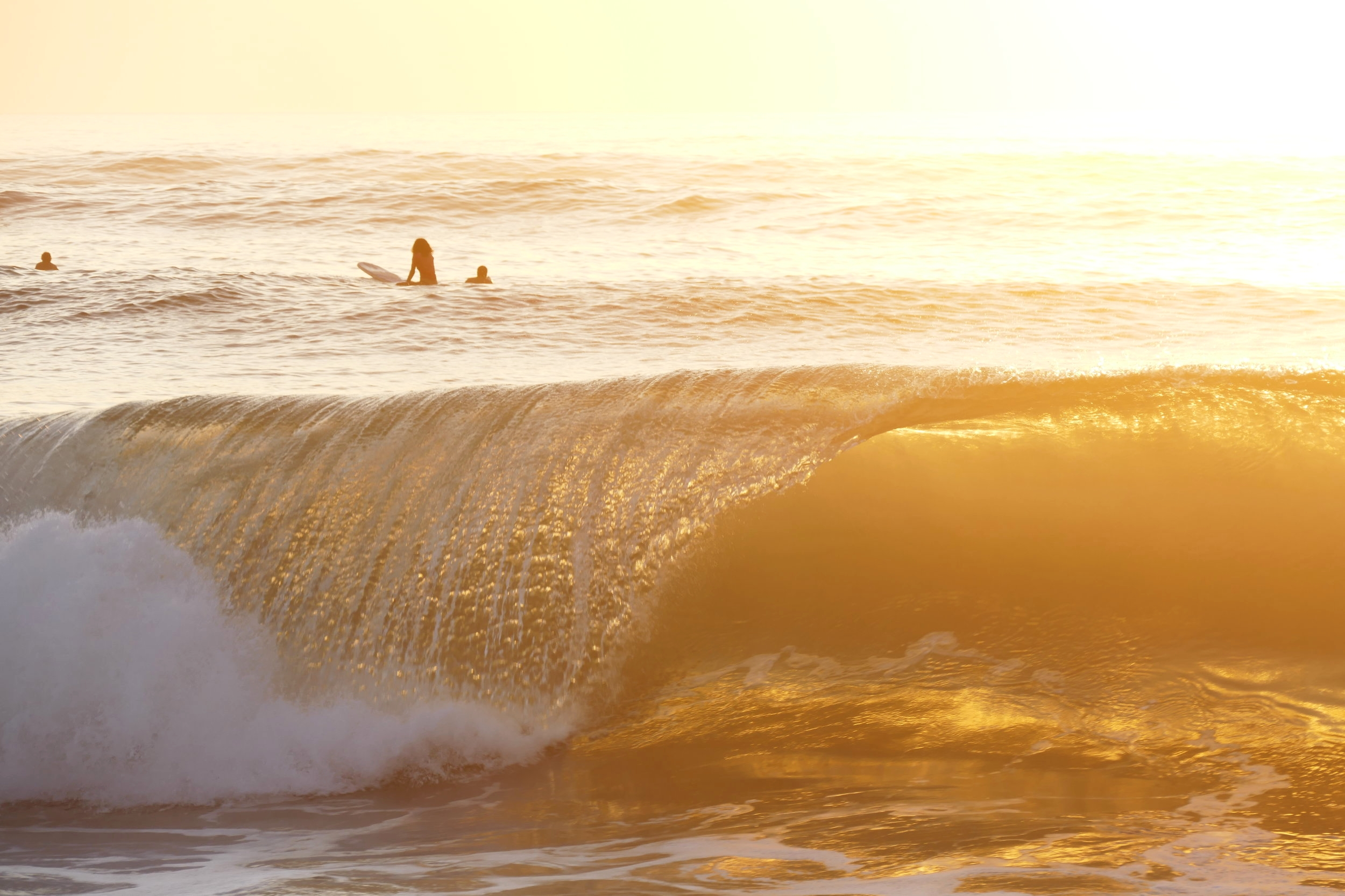 Coucher de Soleil à Zicatela Beach, Puerto Escondido