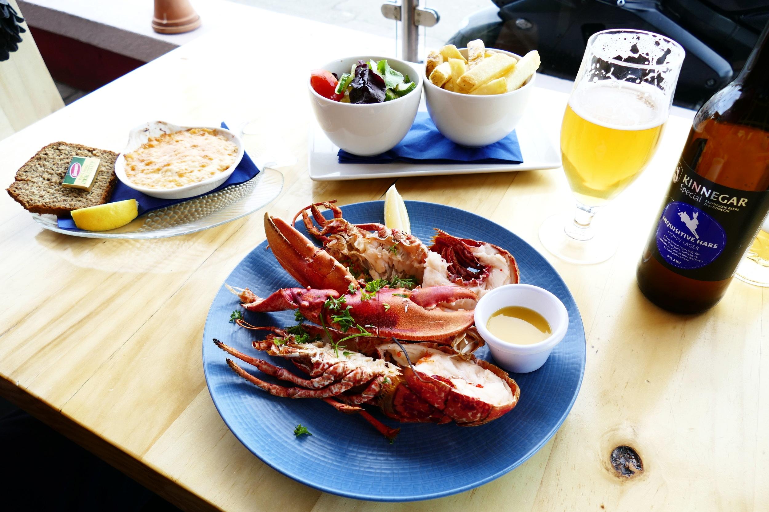 Homard - Lobster - Howth, Dublin