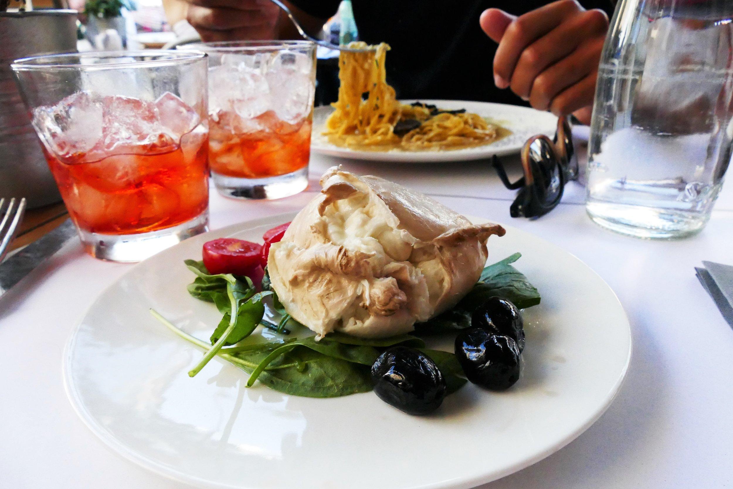 Restaurant Obica Rome Italie