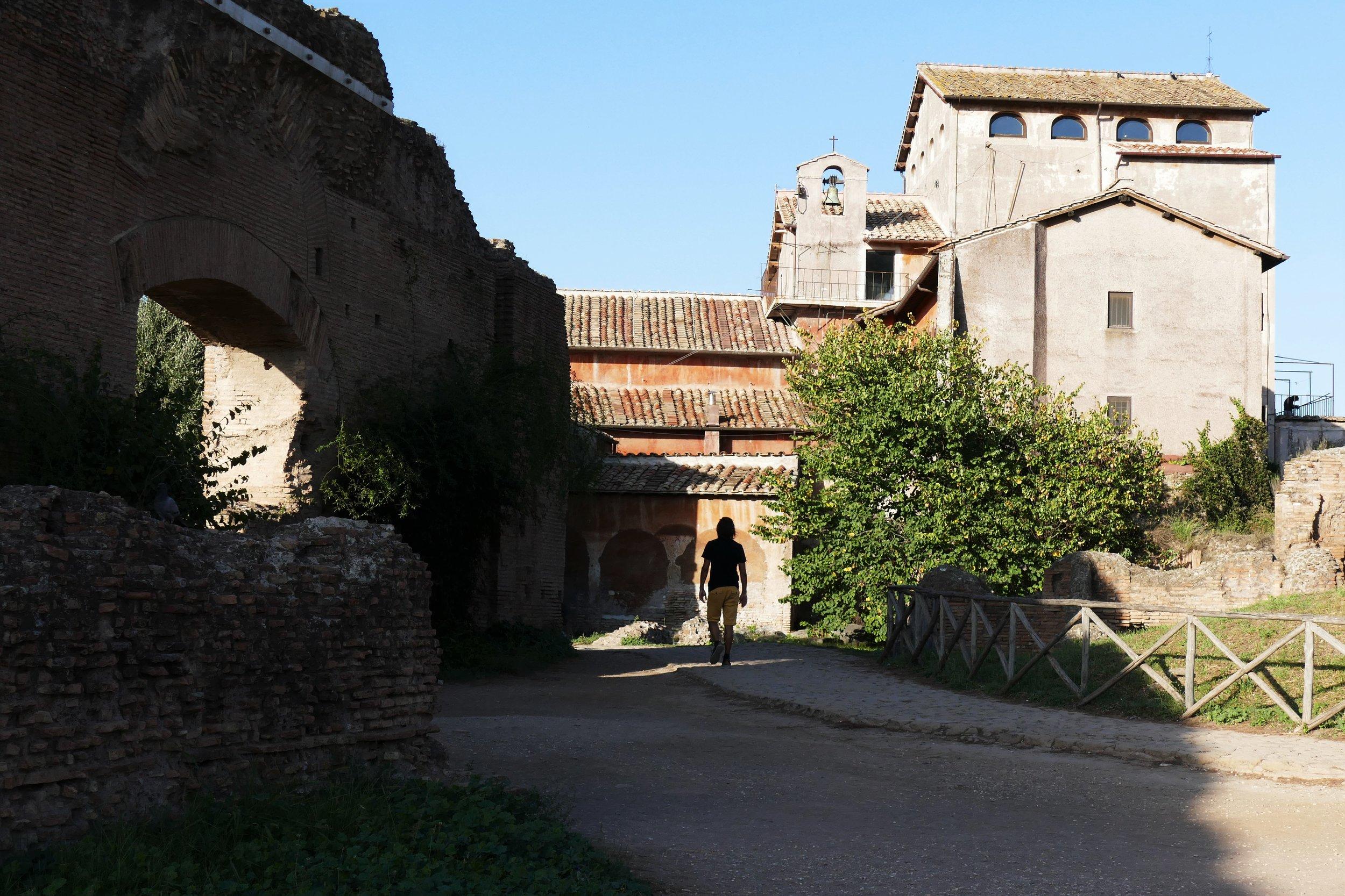 ¨Palatin, Rome, Italie