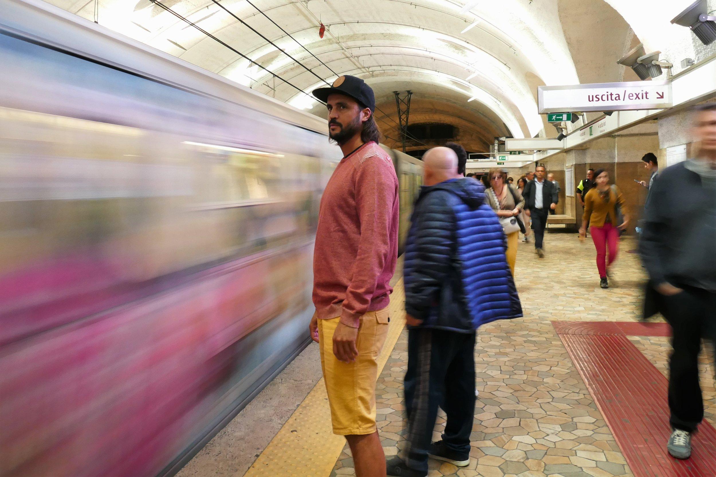 Metro - Rome, Italie