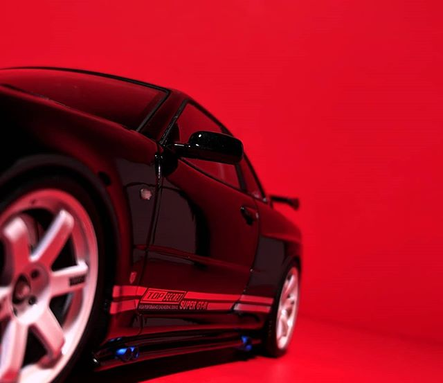 The secret is out! #laldcarweek2019 . TOP SECRET Nissan Skyline GT-R (BNR34) - Ignition Model (1:18) . #ignition #ignitionmodel @ignitionmodel #118scale #nissan #skyline #gtr #r34 #topsecret #godzilla #jdm #tuner #nismo #liveandletdiecast #lald #diecast #diecastcars #diecastcollector #diecastphotography #resin #Team118