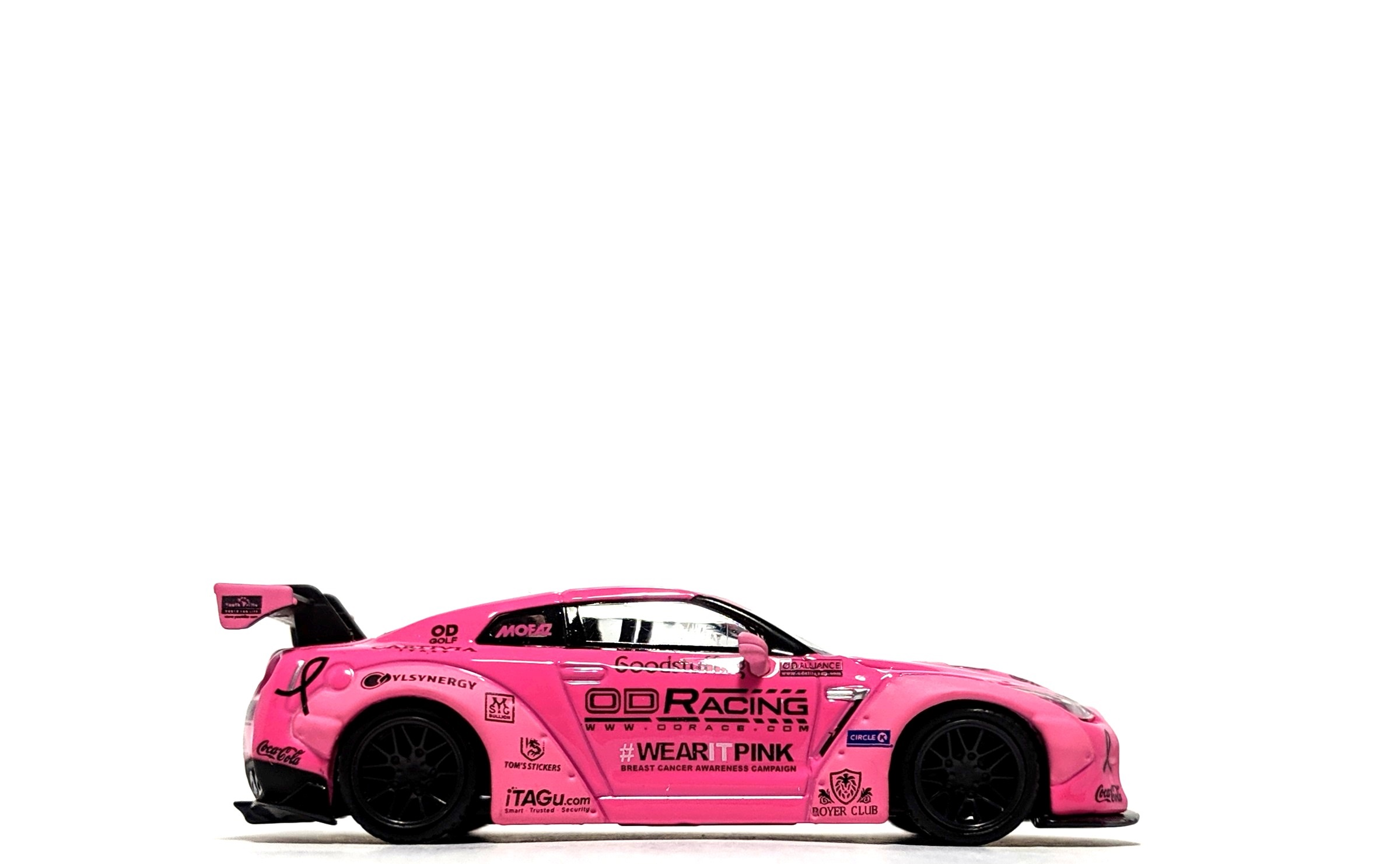 "LB Works Nissan GT-R (R35) ""Wear It Pink"" Breast Cancer Awareness - TSM/Mini GT"
