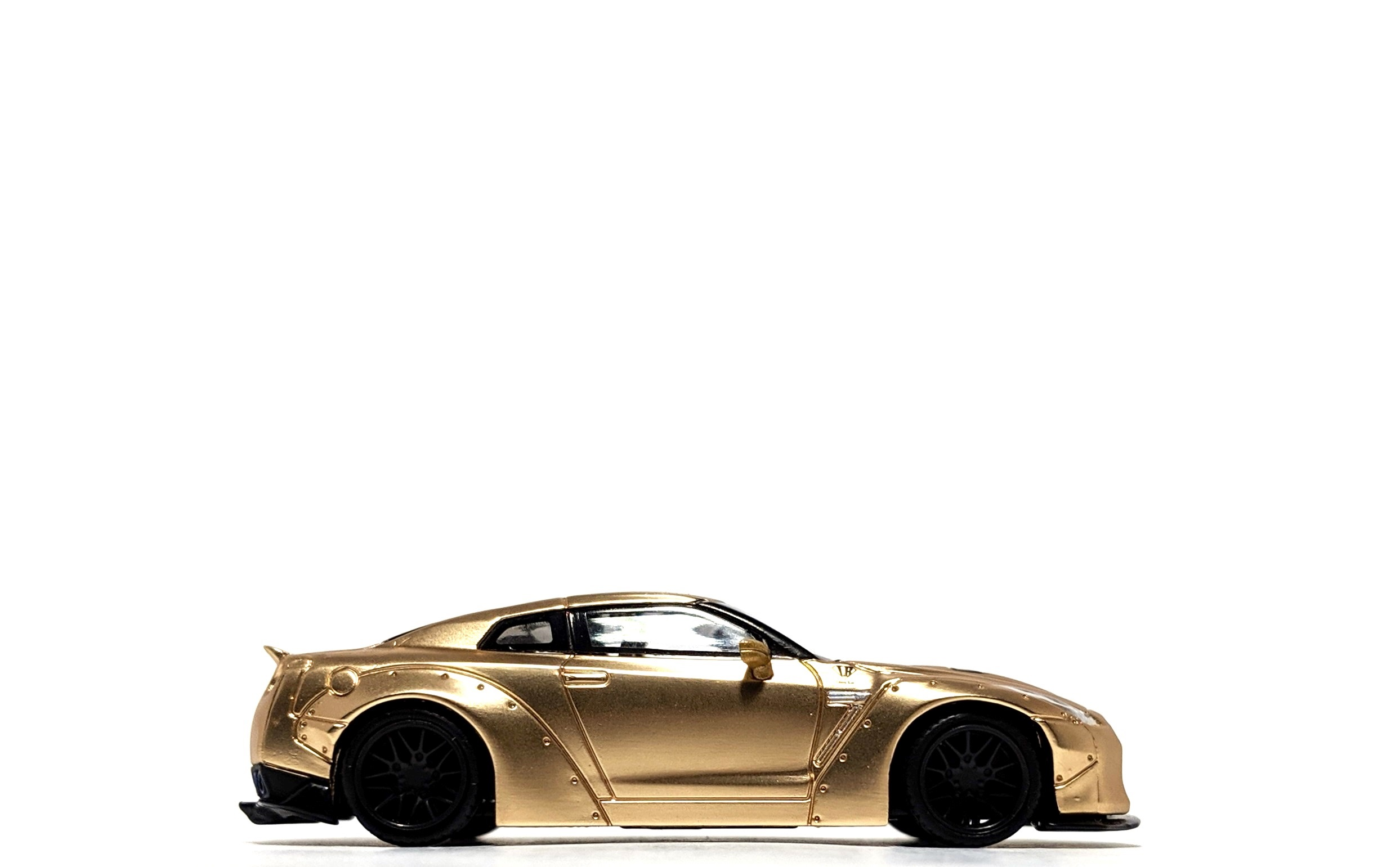 LB Works Nissan GT-R (R35) Satin Gold - TSM/Mini GT