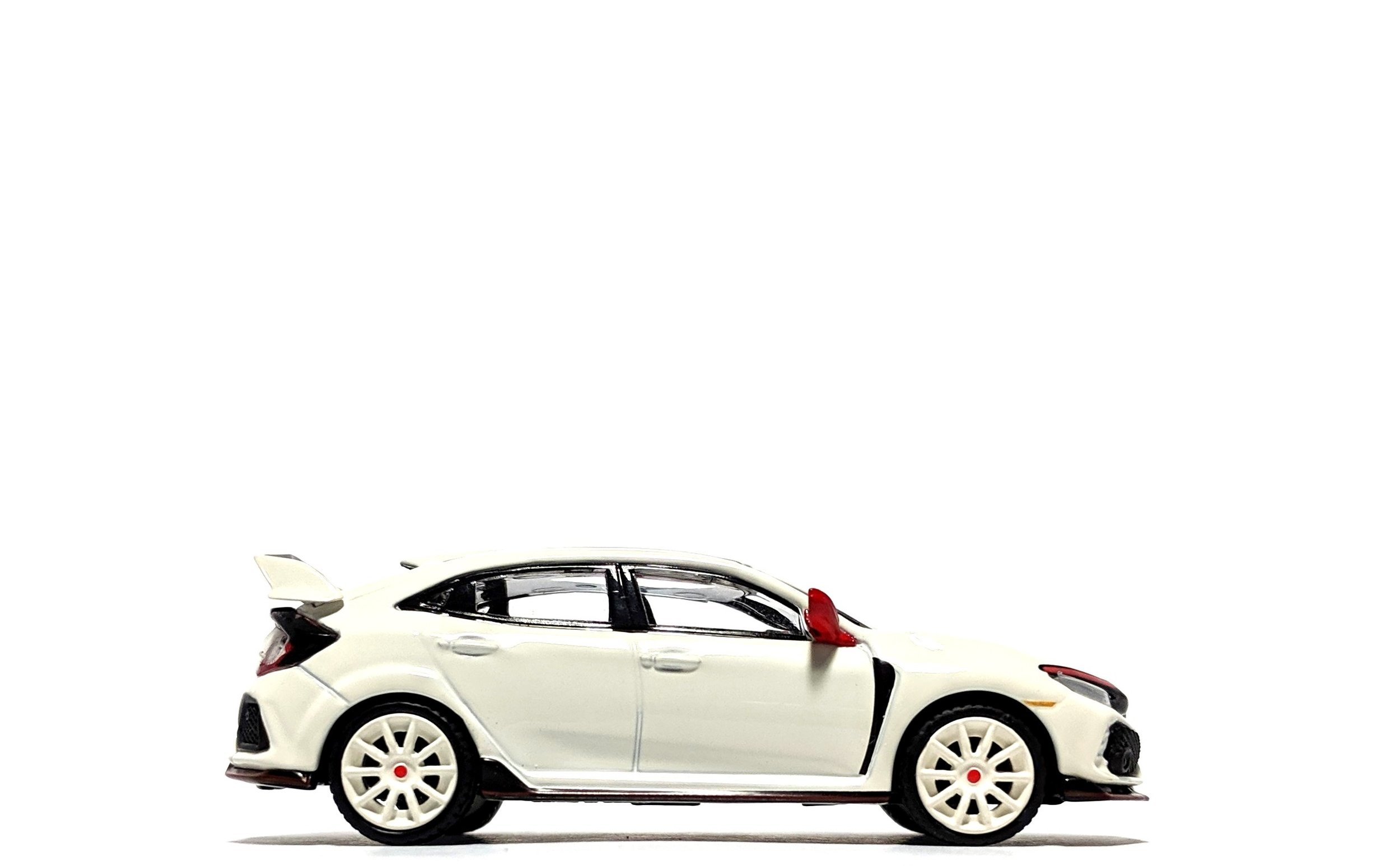 Honda Civic Type R (FK8) Modulo Edition Championship White - TSM/Mini GT