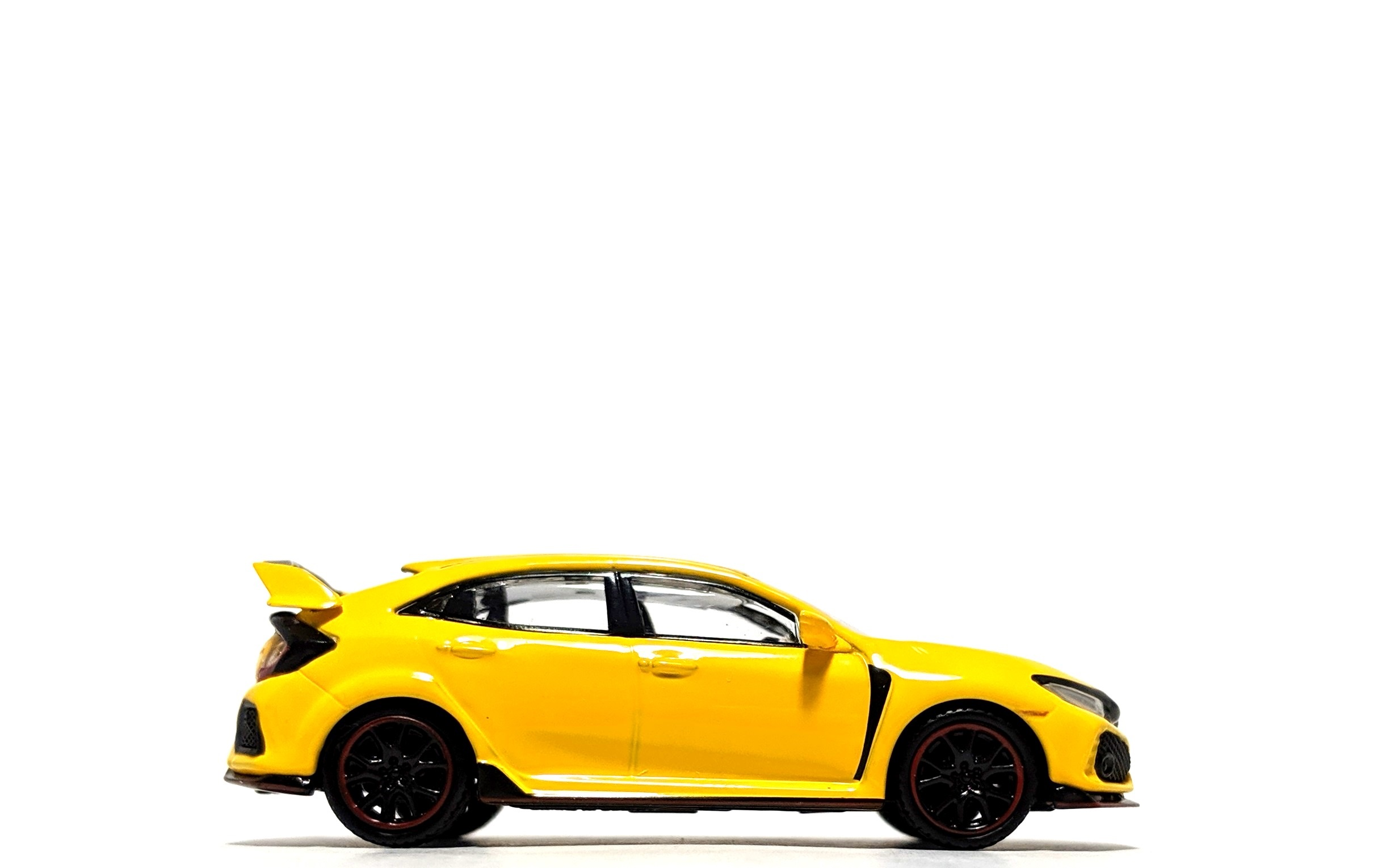 Honda Civic Type R (FK8) Phoenix Yellow - TSM/Mini GT