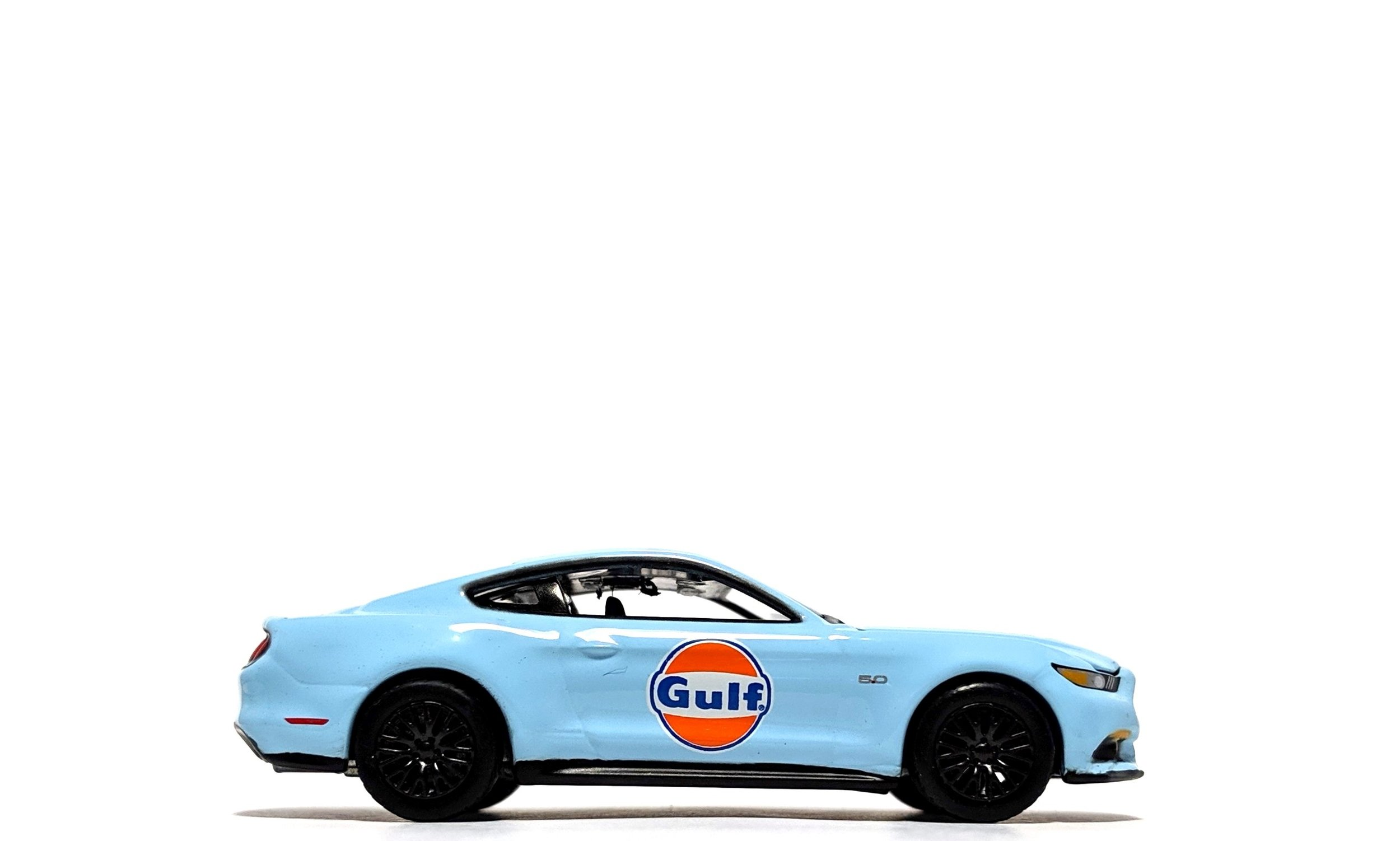"2017 Ford Mustang GT ""Gulf Oil"" Light Blue - Auto World"