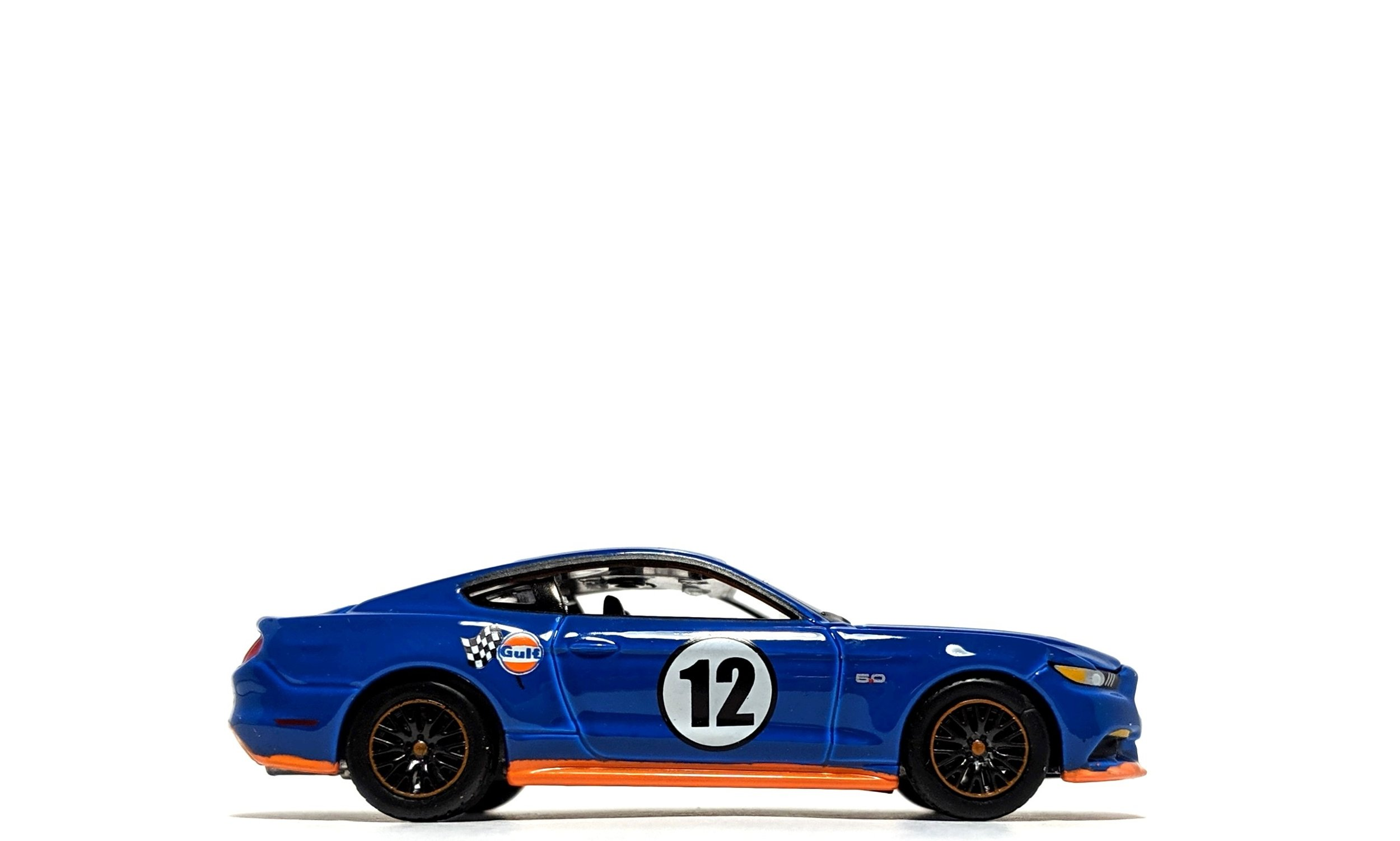 "2017 Ford Mustang GT ""Gulf Oil"" Dark Blue - Auto World"