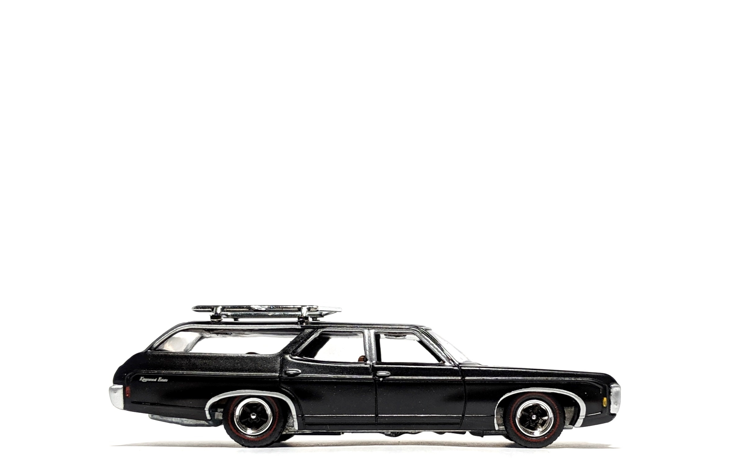 1969 Chevrolet Kingswood Estate Flat Black - Auto World