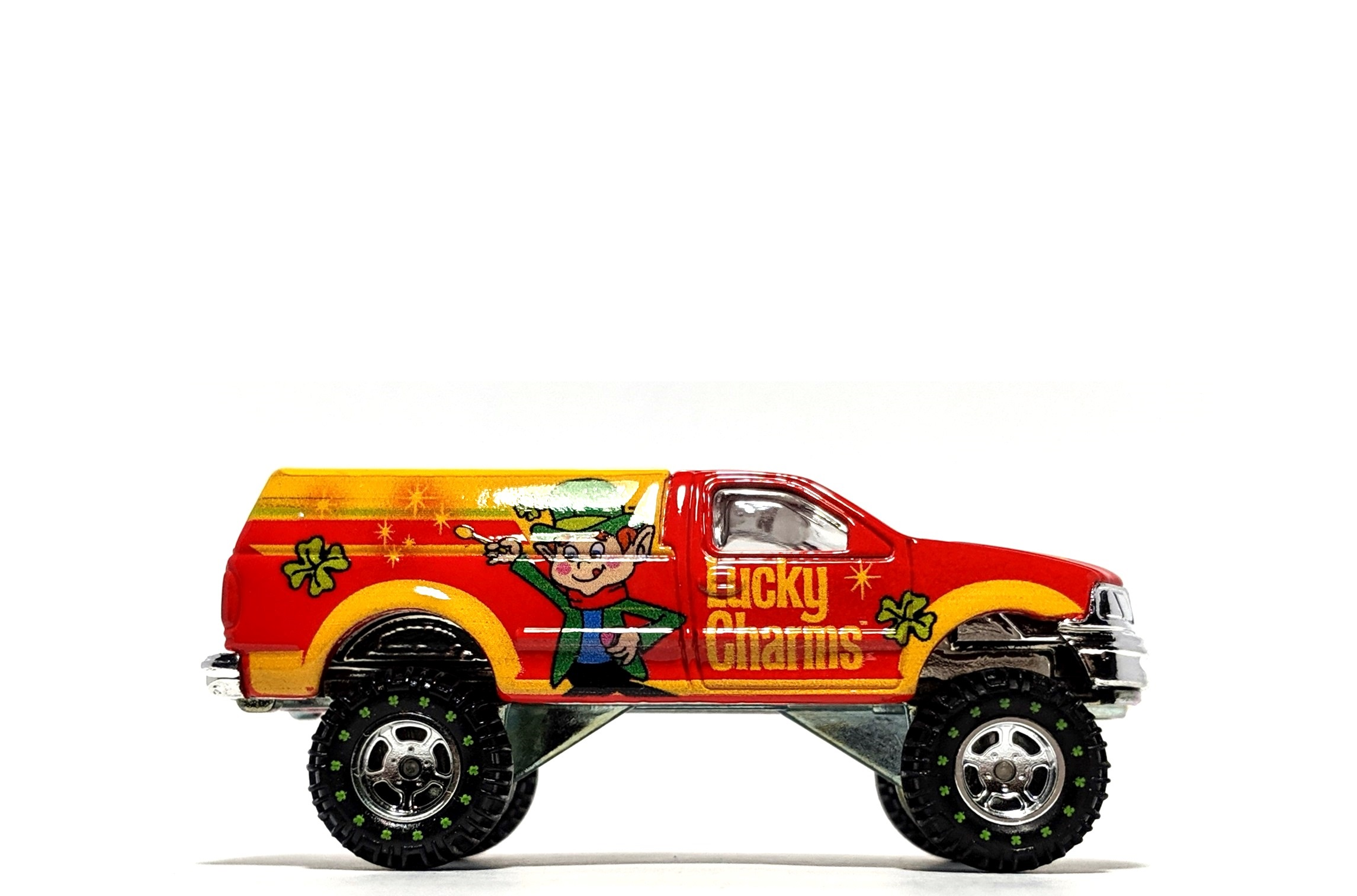 "Ford F-150 ""Lucky Charms"" - Hot Wheels Pop Culture"