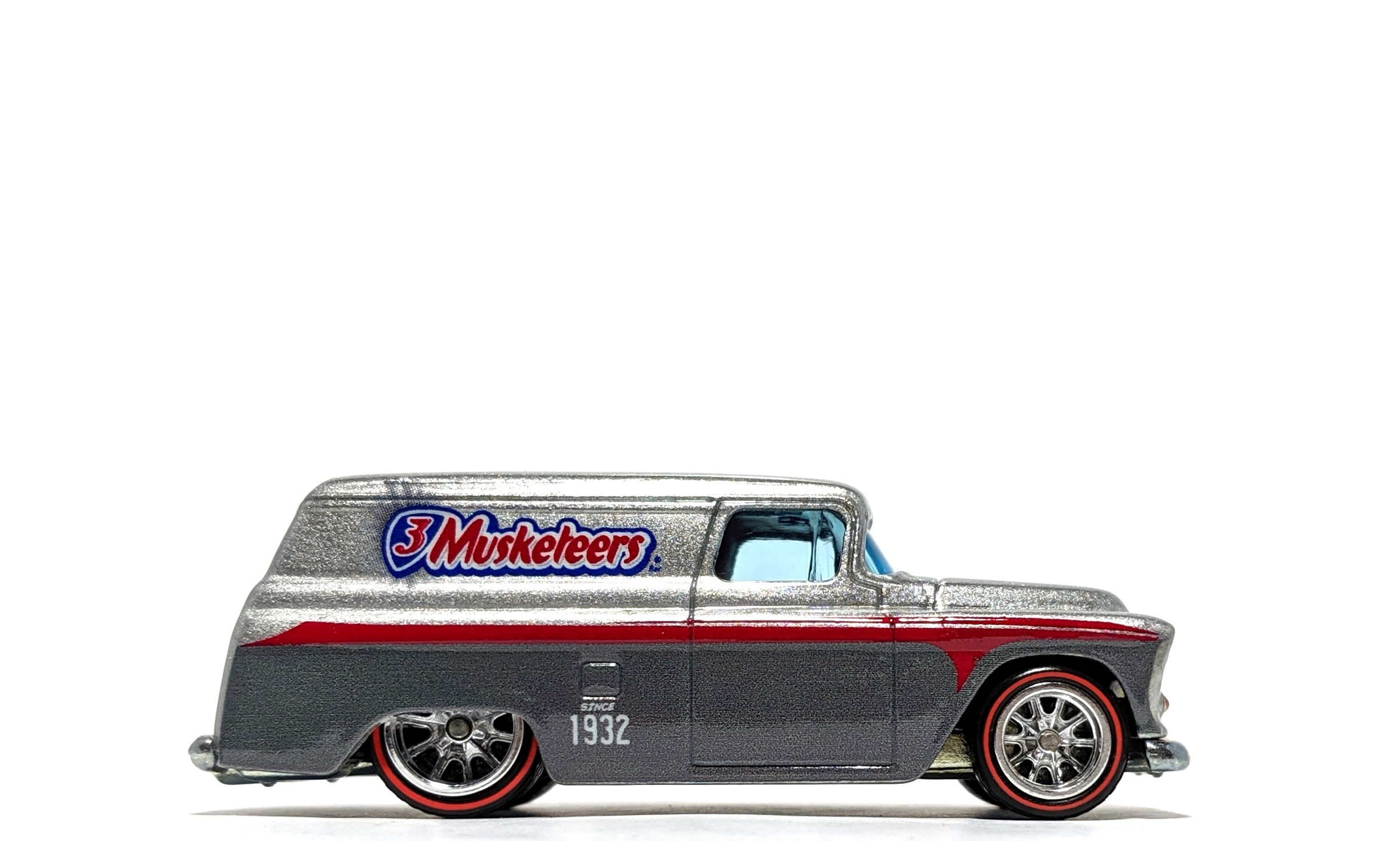 "'55 Chevy Panel ""3 Musketeers"" - Hot Wheels Pop Culture"