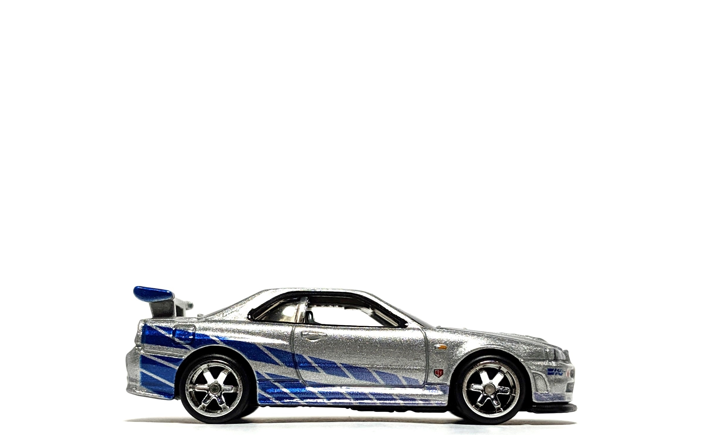 Nissan Skyline GT-R (BNR34) - Hot Wheels Fast & Furious