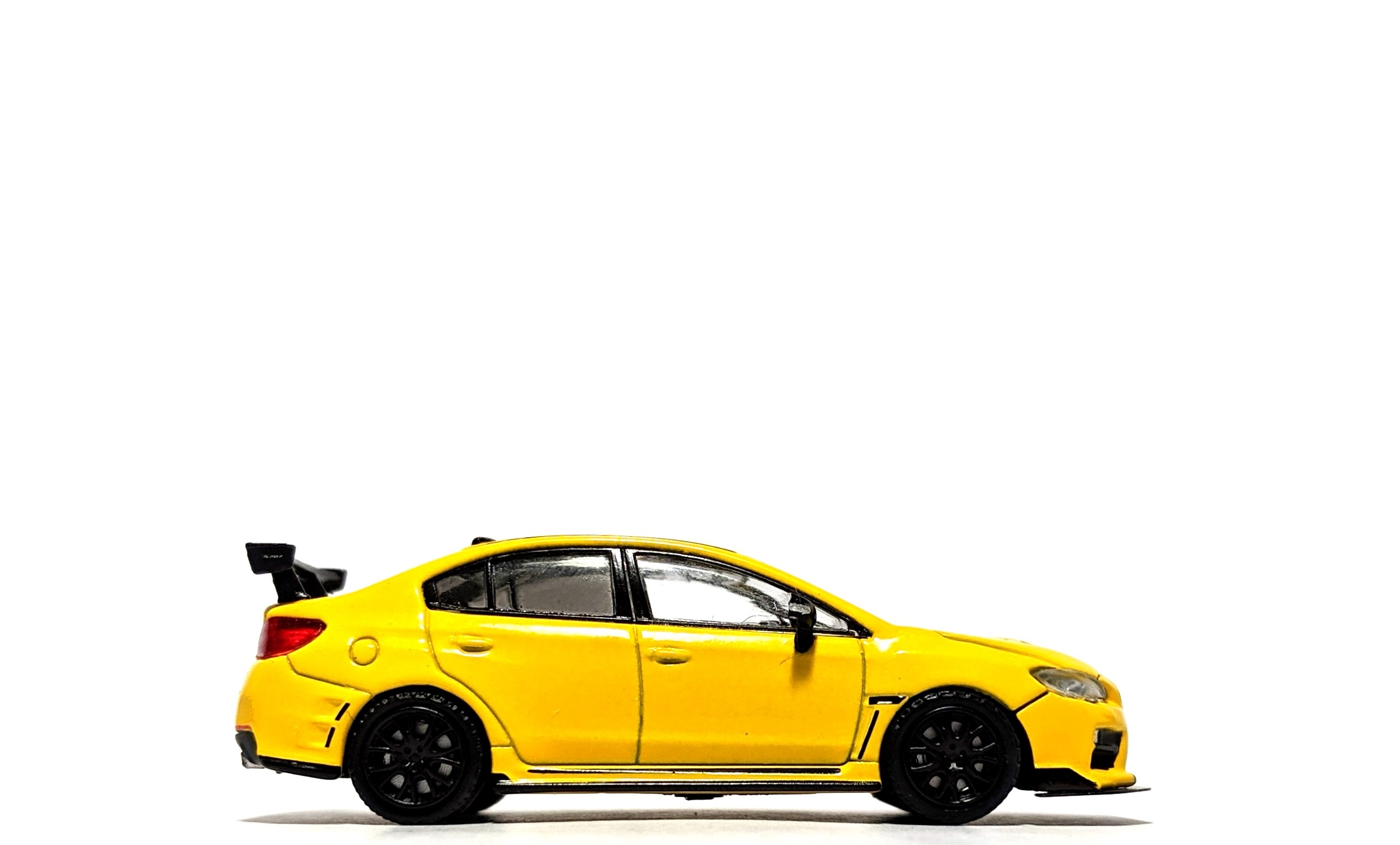 Subaru WRX STi S207 NBR Package Sunrise Yellow - Tarmac Works