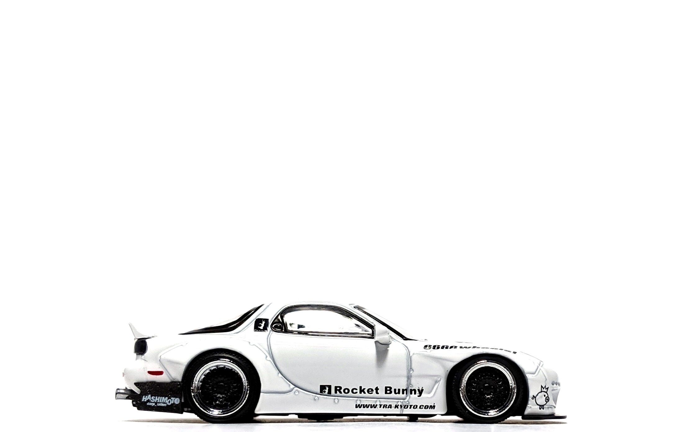 Rocket Bunny Mazda RX-7 (FD3S) White - Ignition Model