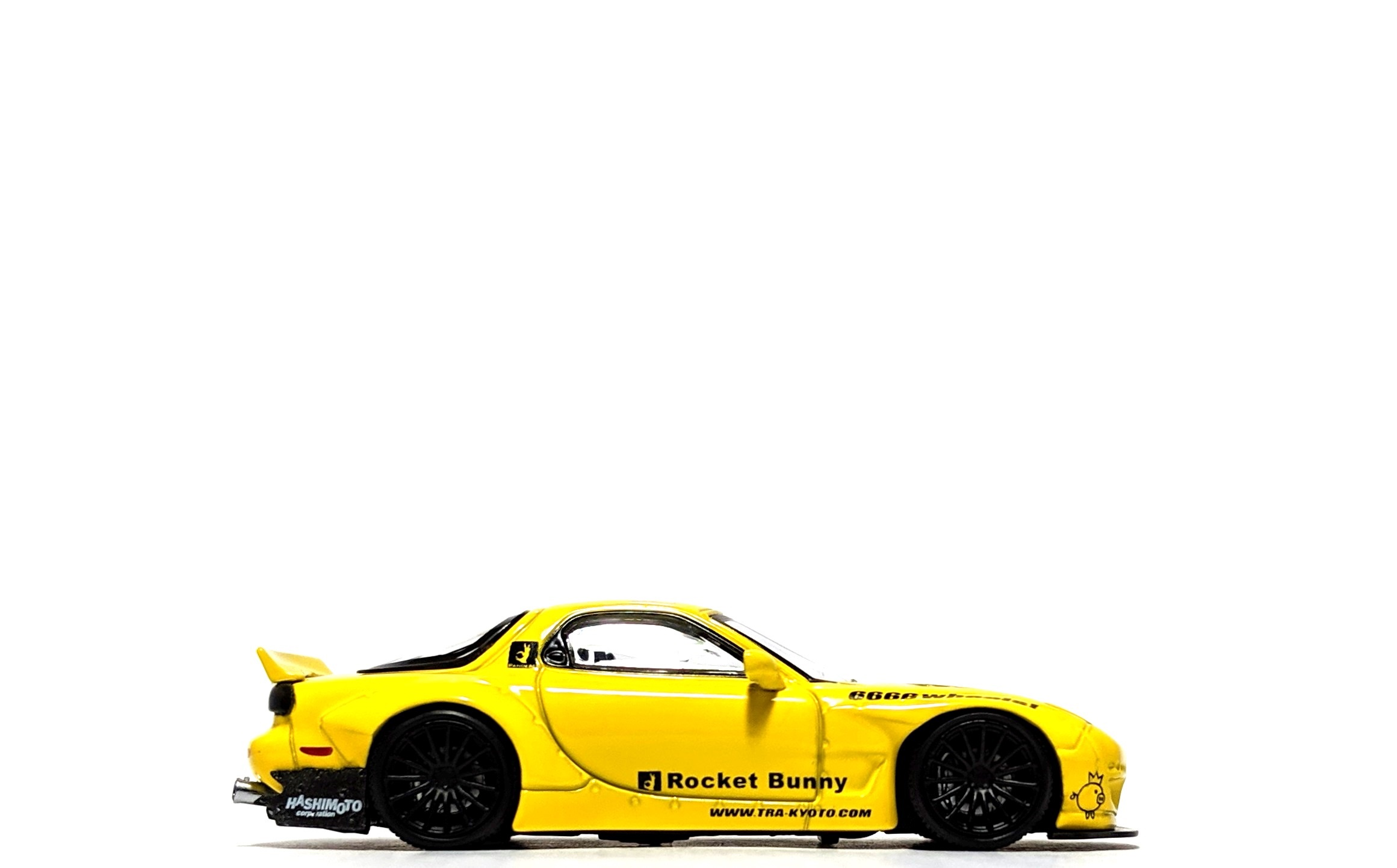 Rocket Bunny Mazda RX-7 (FD3S) Yellow - Ignition Model