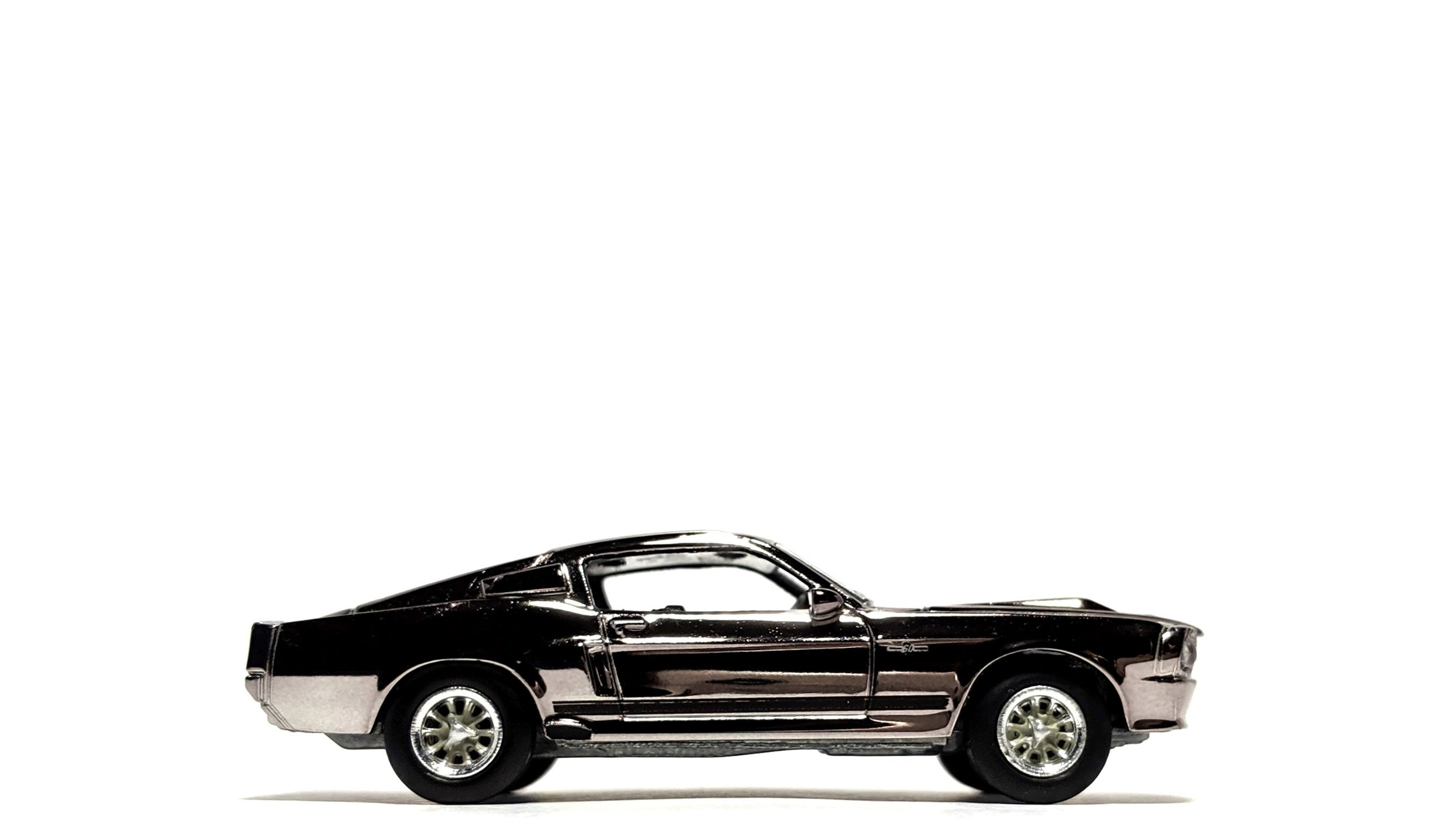 "1967 Ford Mustang ""Eleanor"" Chrome Edition ""Gone In 60 Seconds"" - Greenlight"
